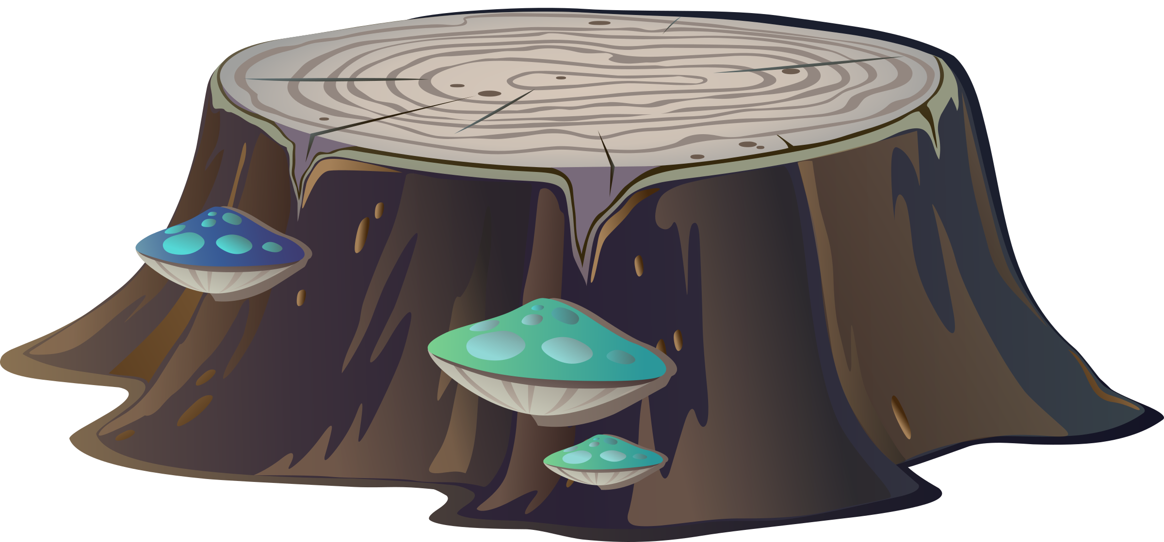 Tree stump from Glitch by anarres