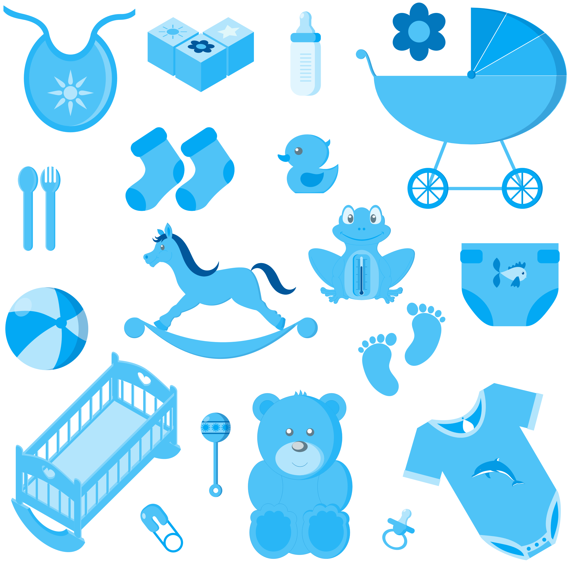 Clipart Baby Boy Accessories