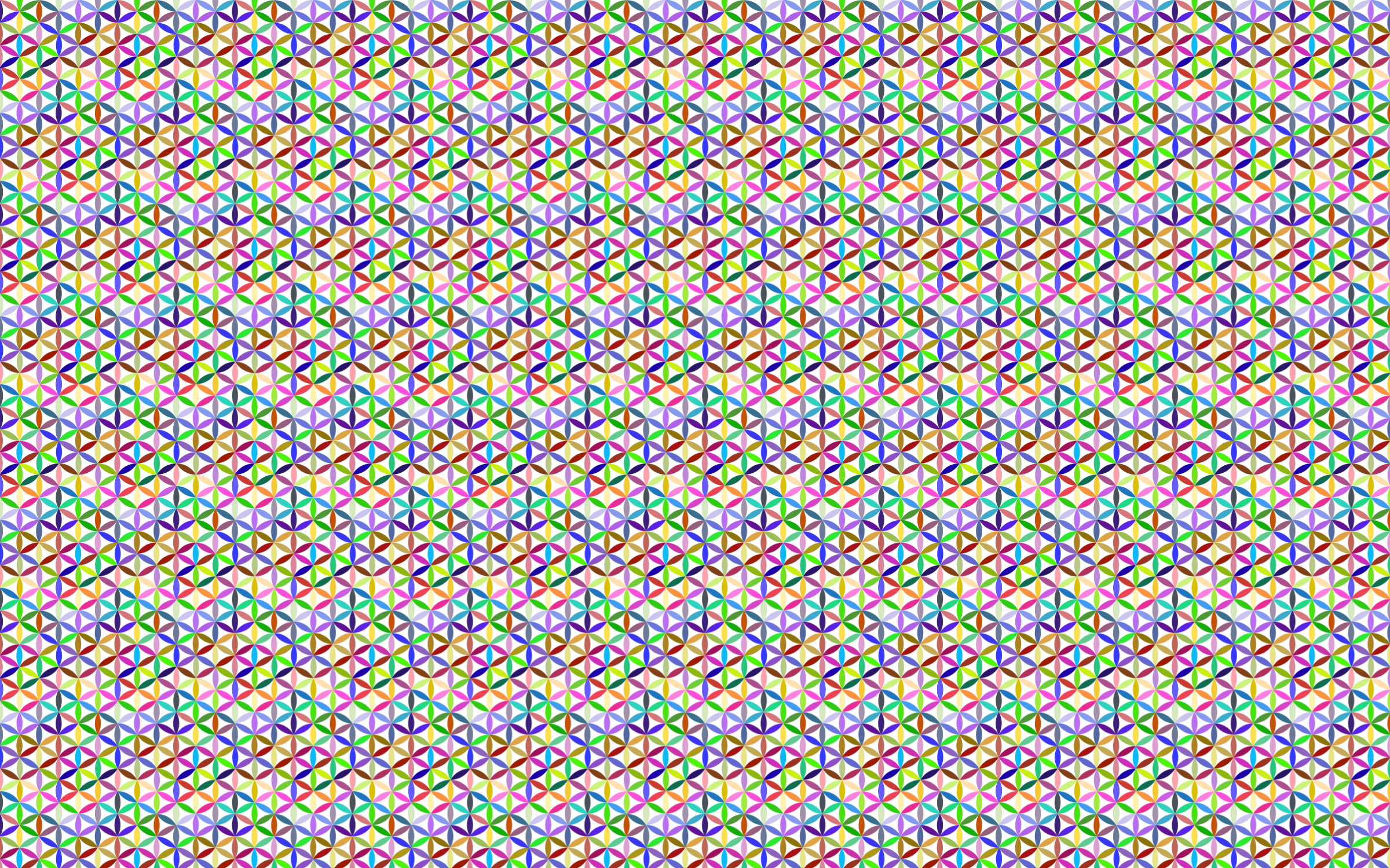 Seamless Prismatic Geometric Pattern by GDJ