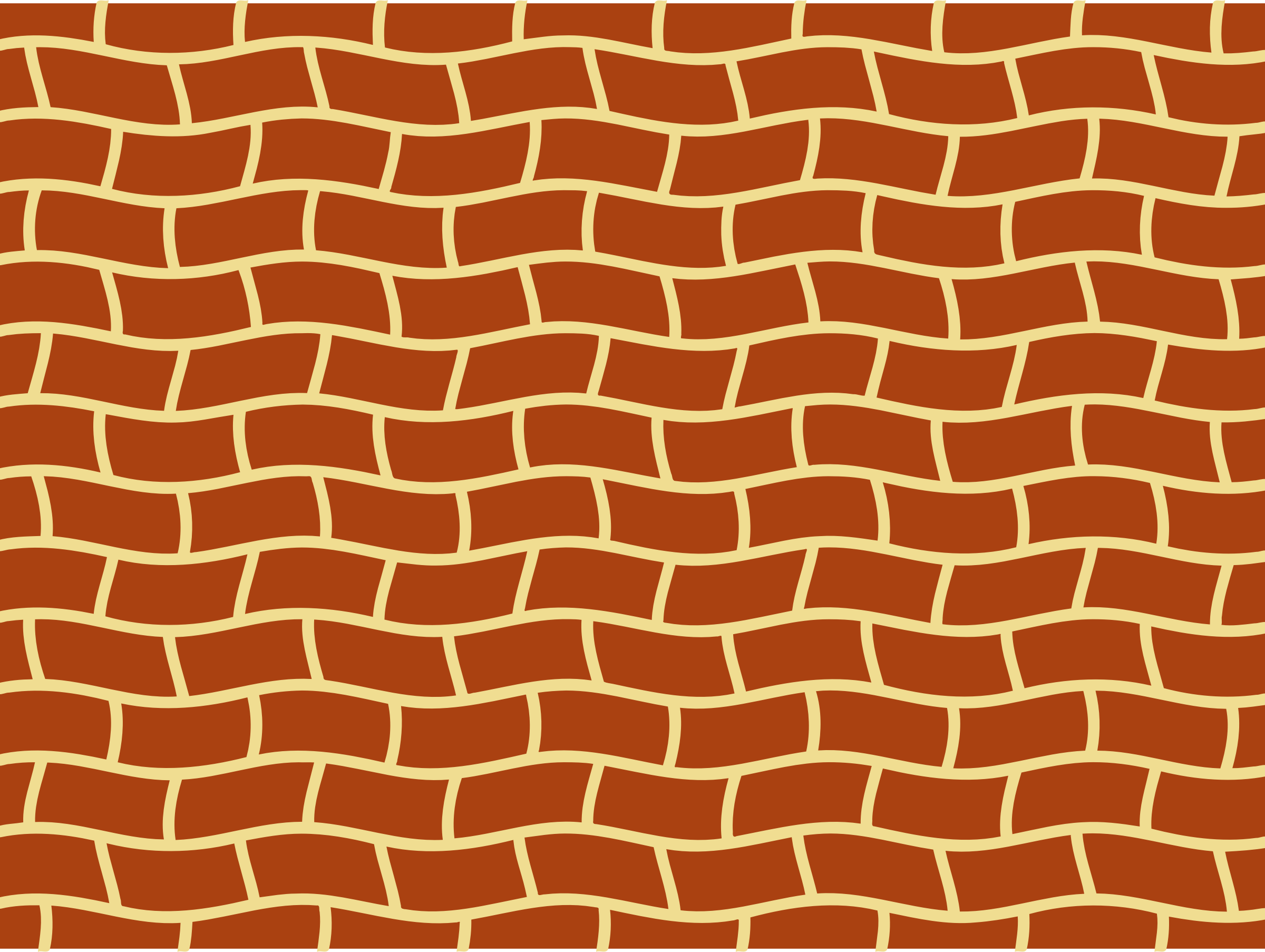 Wavy brick pattern by Firkin