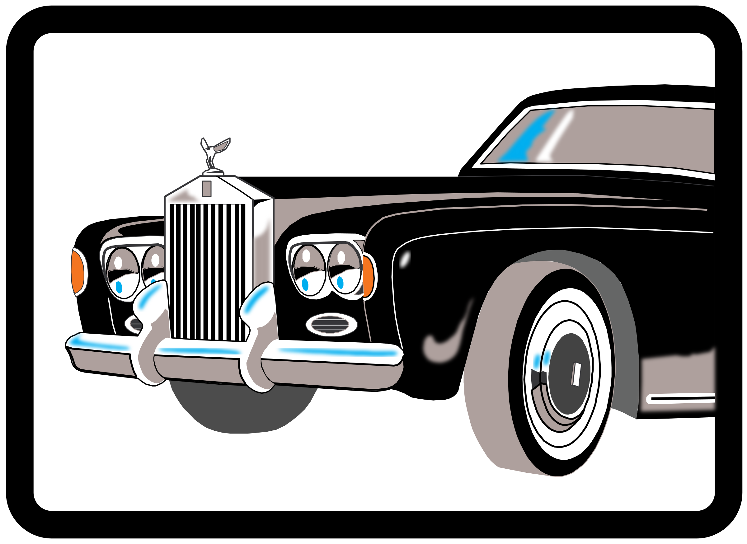 rolls royce shadow by cactus cowboy