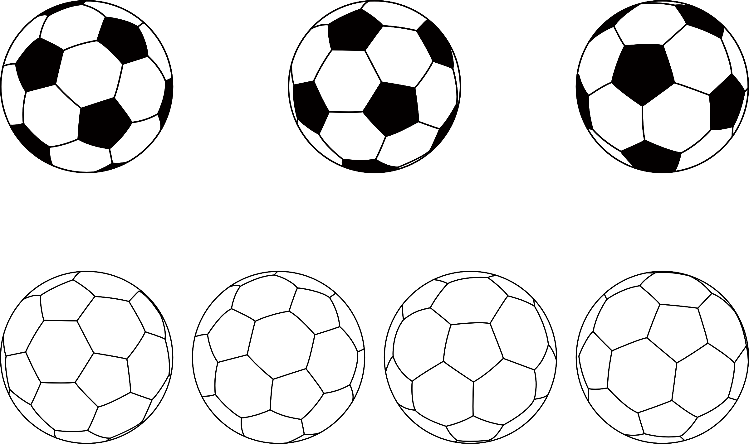 Soccer Balls by oksmith