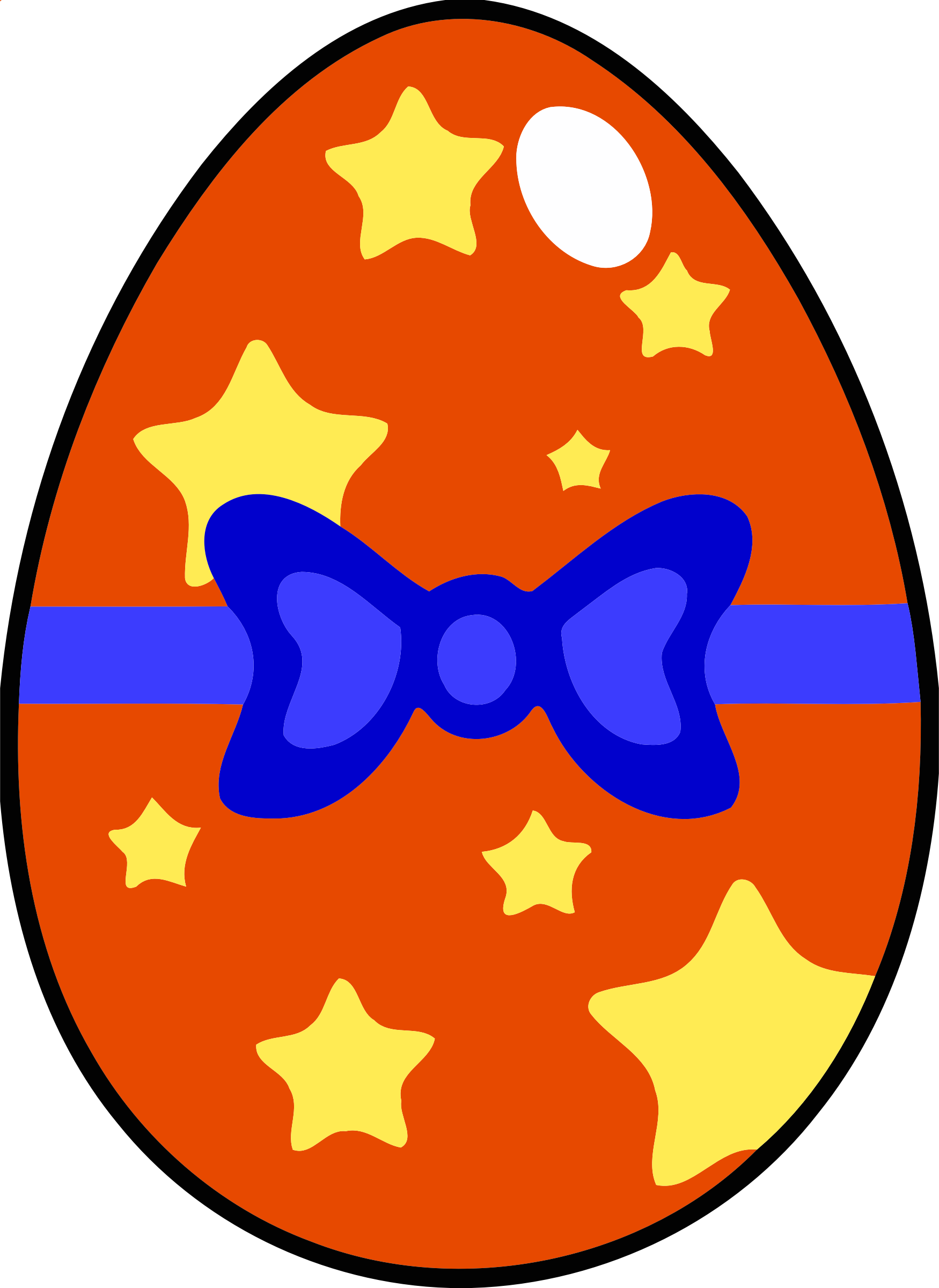 Decorated egg 9 by Firkin
