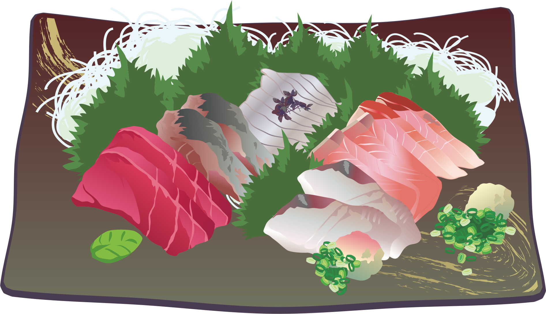Sashimi Assortment by oksmith