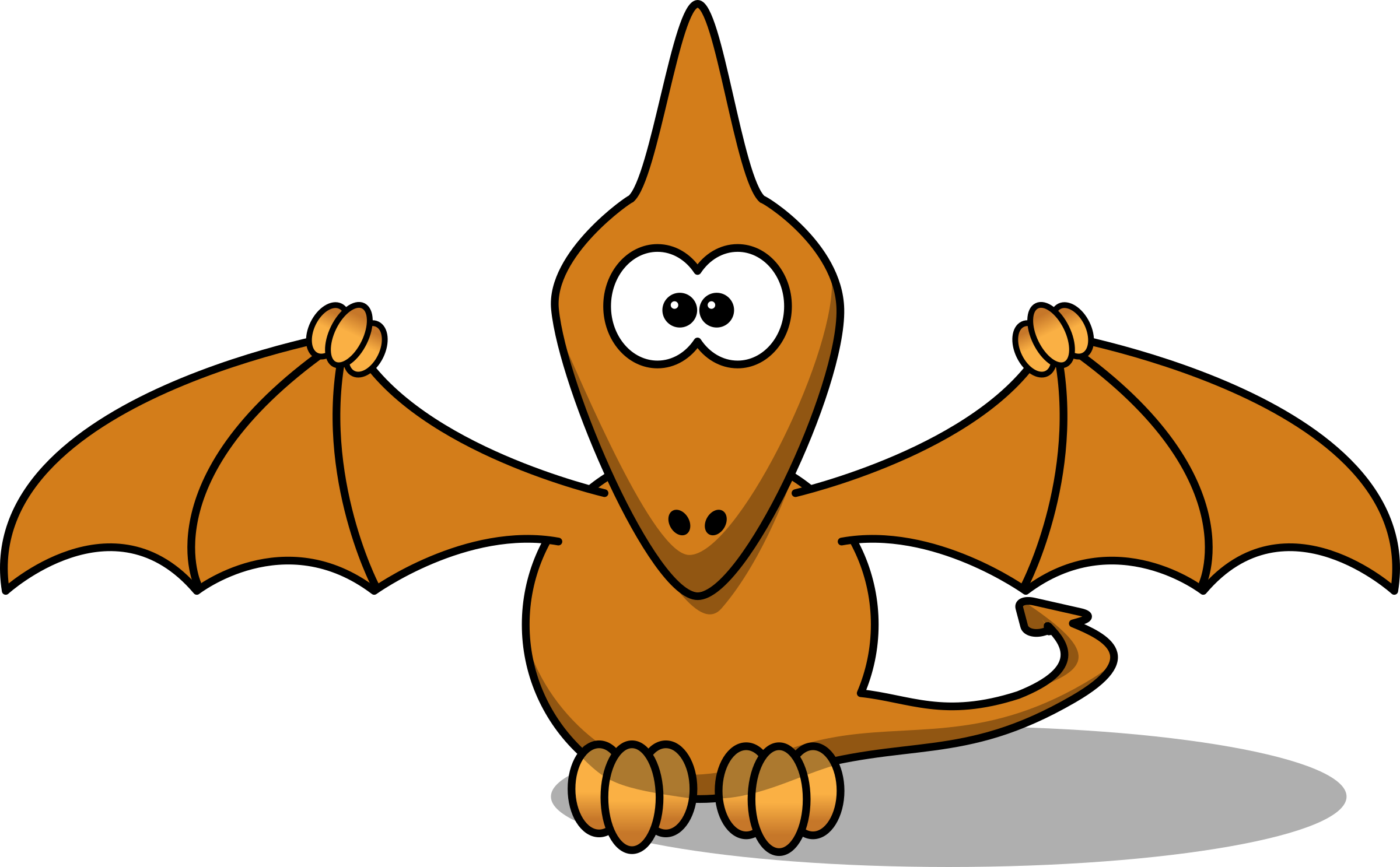 Cartoon Pterodactyl by StudioFibonacci