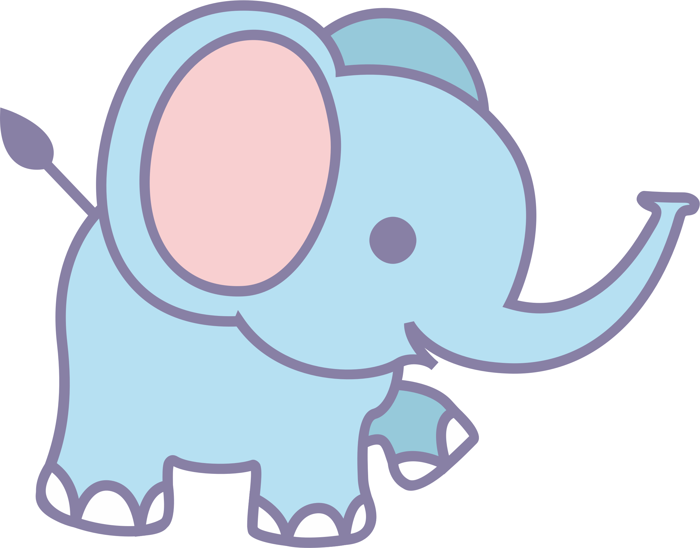 clipart cute elephant