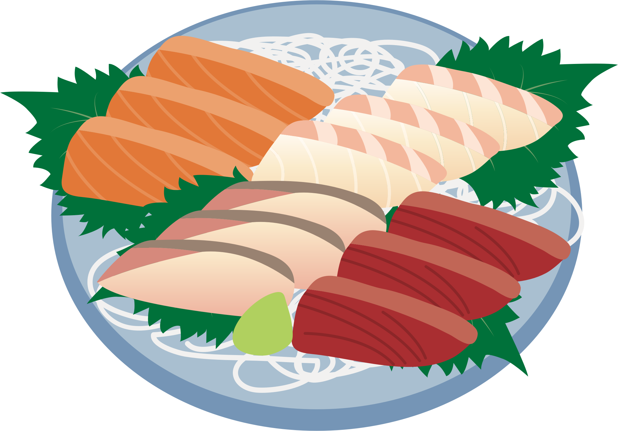 Sashimi Assortment (#2) by oksmith