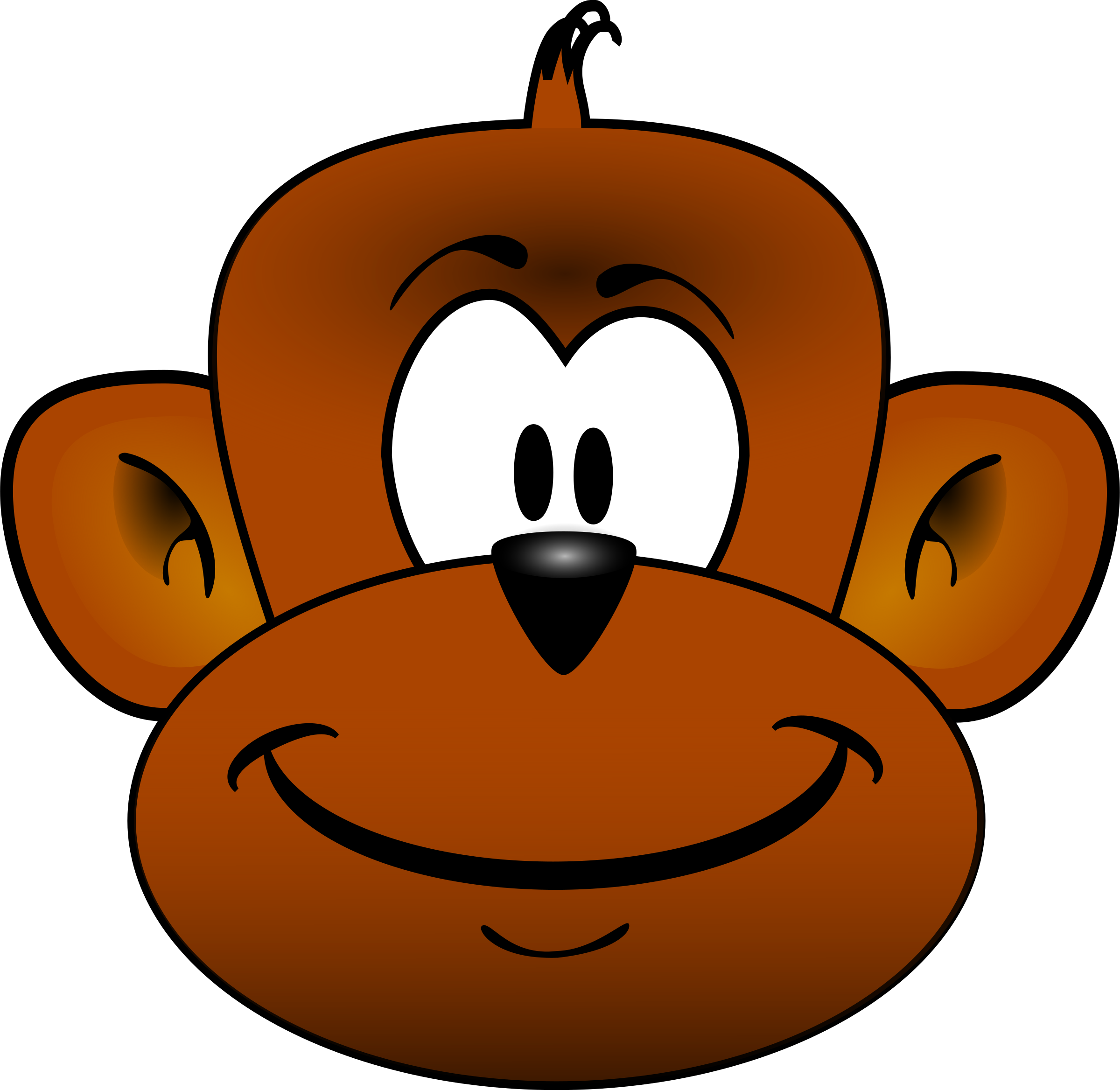 Monkey head by gmad