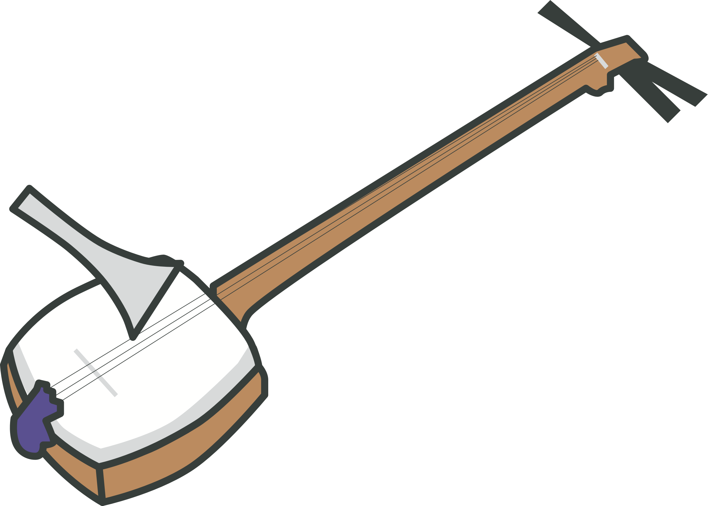 Shamisen (#1) by oksmith