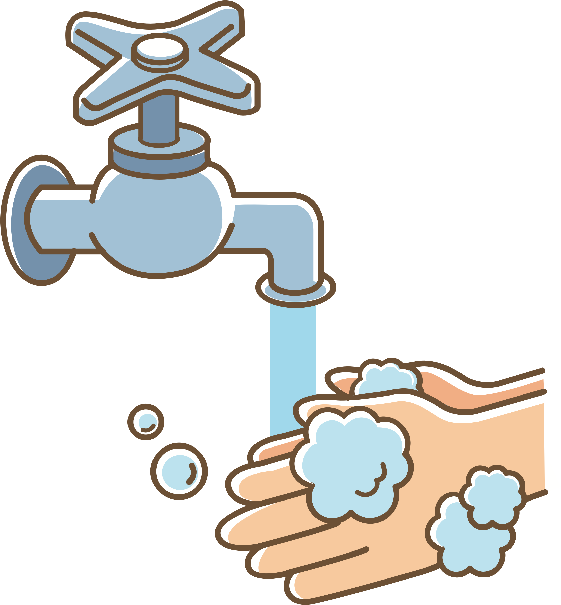 Clipart - Wash your hands (#2)
