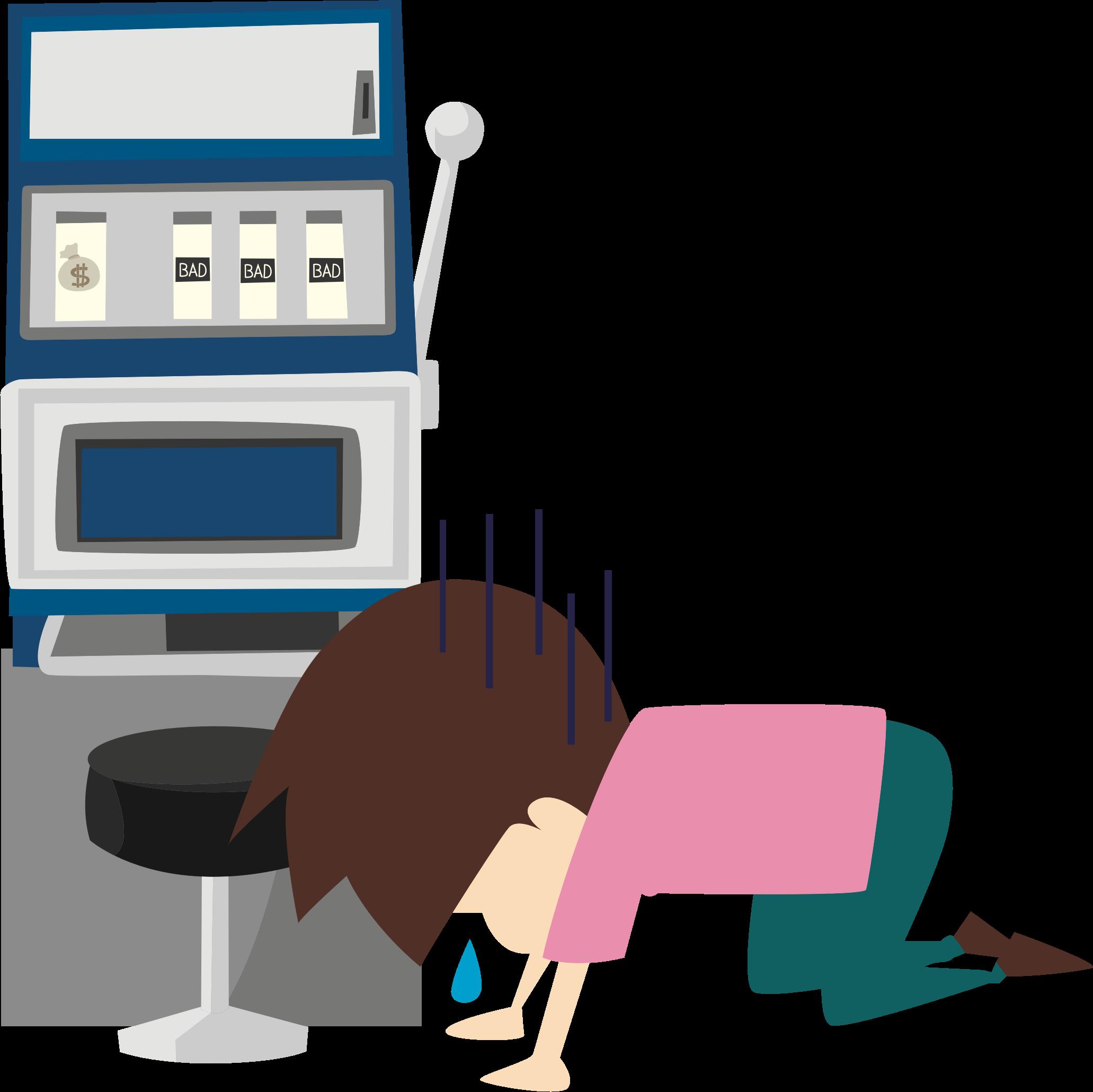 Slot Machine Loser by oksmith