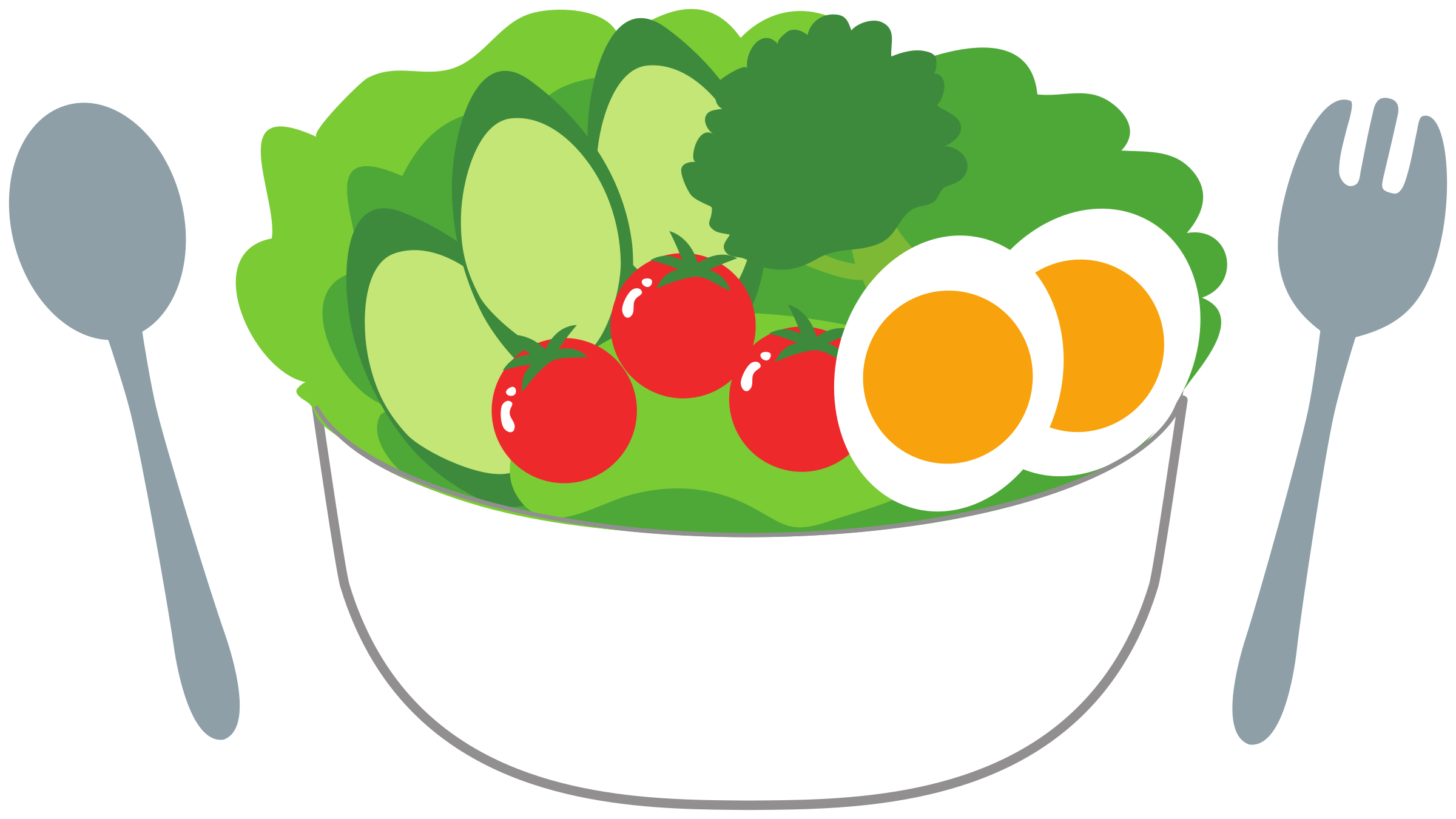 Salad with fresh tomatoes, cucumber and eggs by Juhele