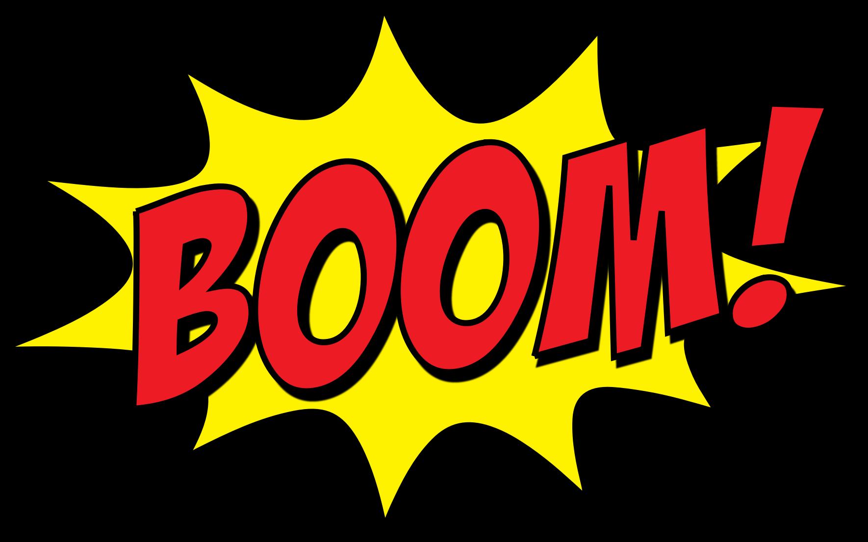 clipart boom