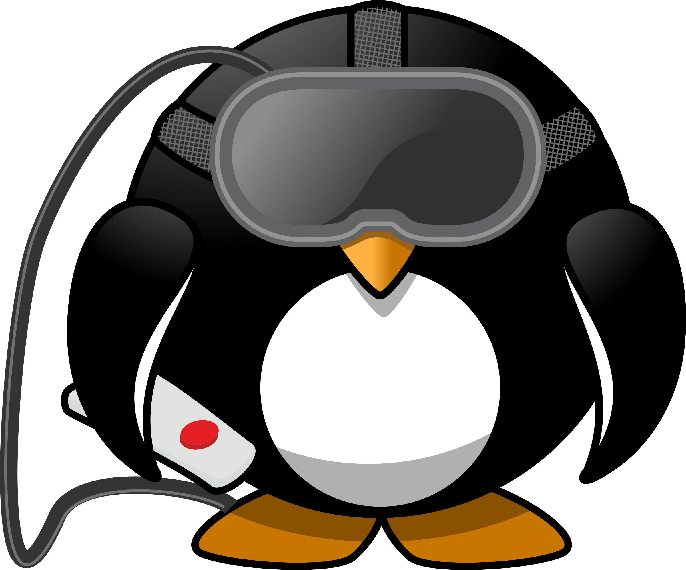 Virtual Reality Penguin by Moini