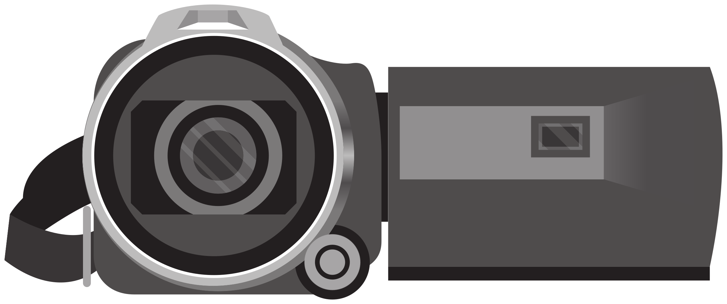 Camcorder - video camera by Juhele