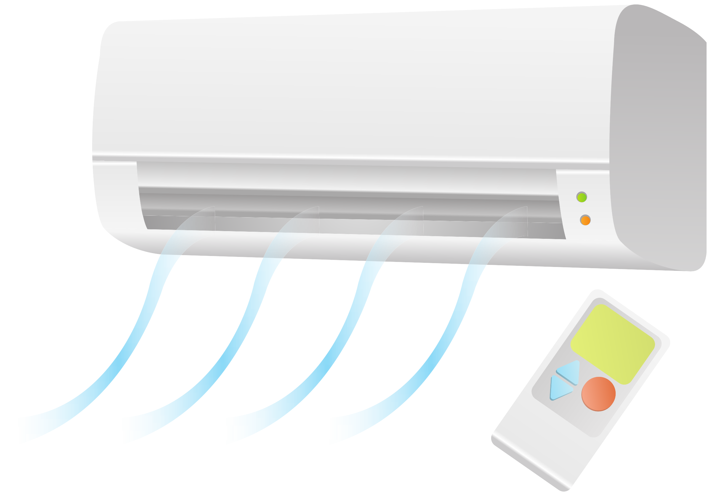 Air condition unit with remote by Juhele