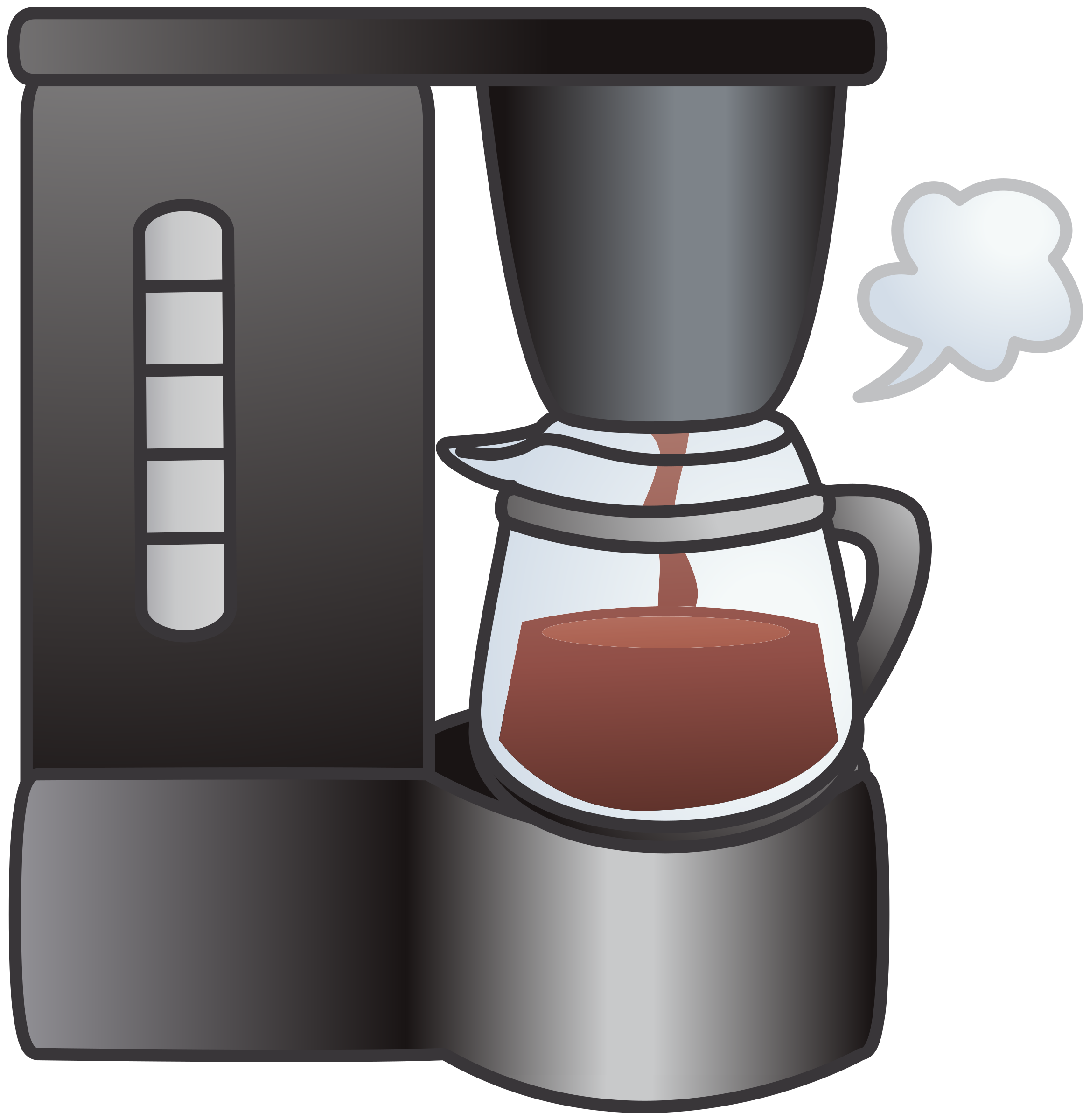 Clip Art Coffee Maker ~ Clipart coffeemaker coffee machine