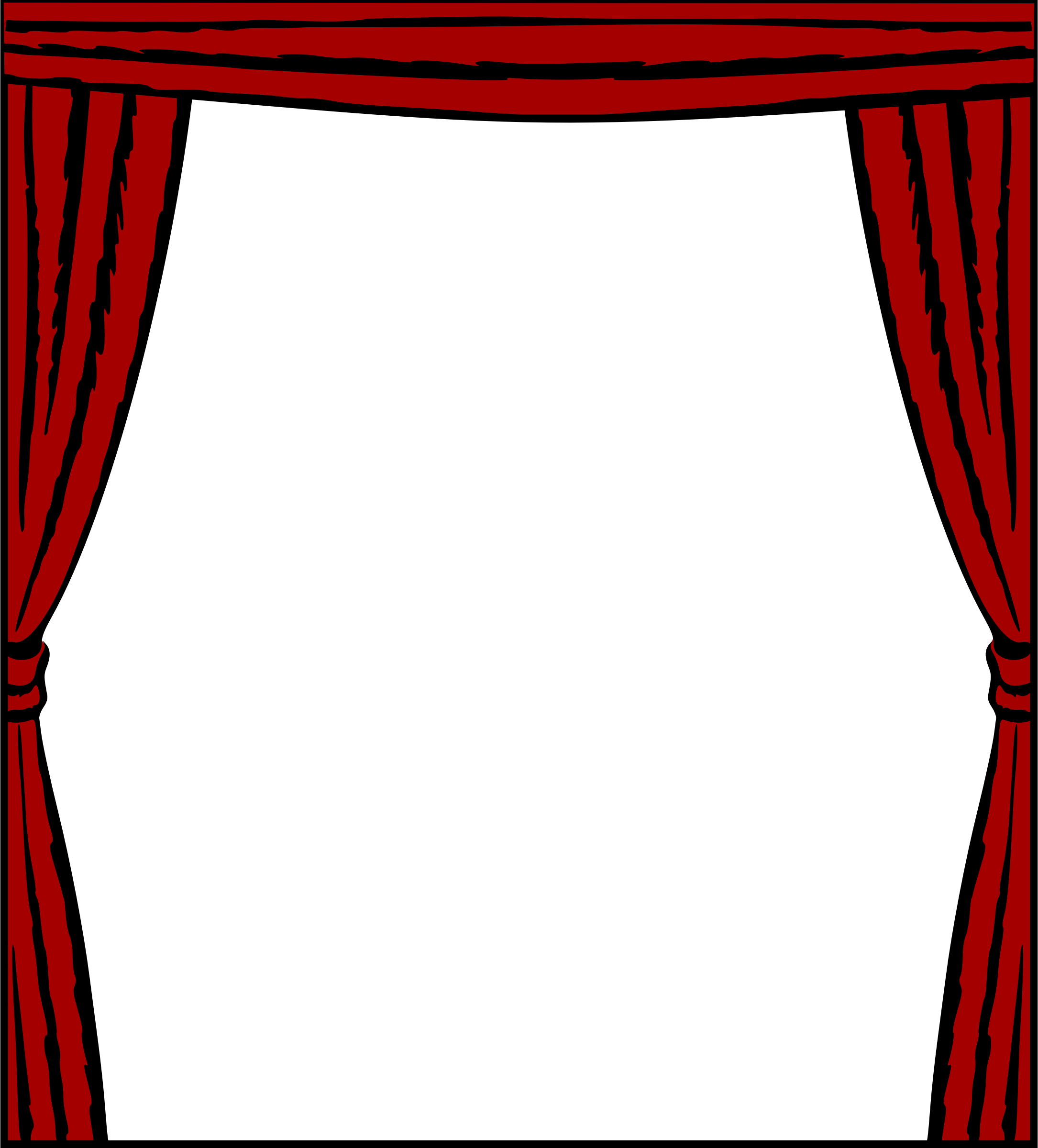 Curtain frame by Firkin