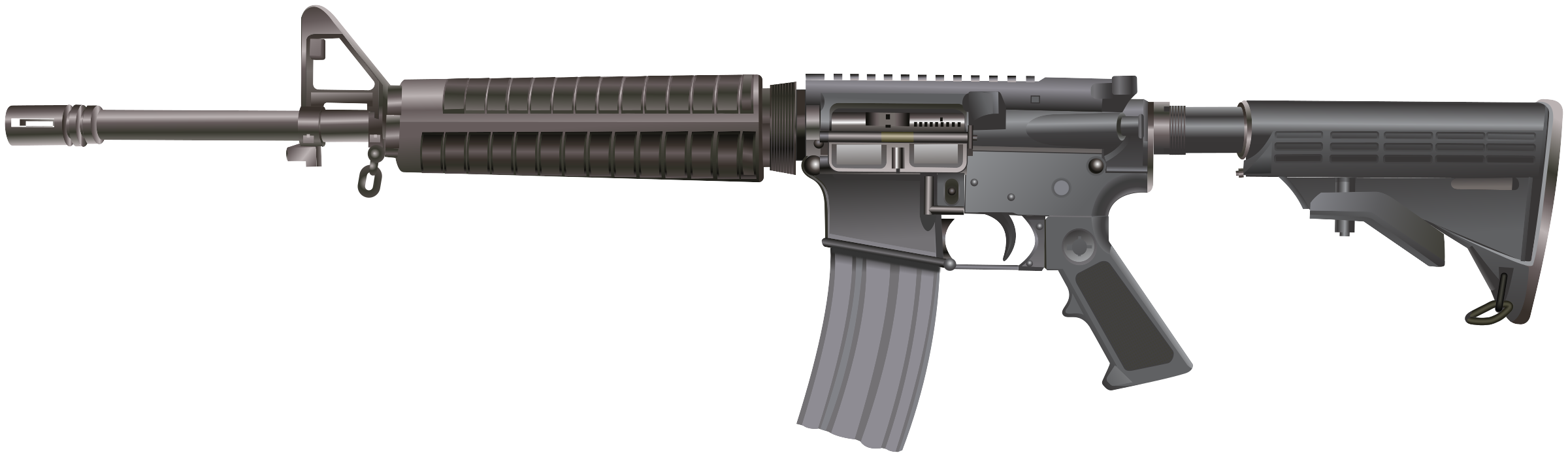 M16 / AR-15 rifle by Juhele