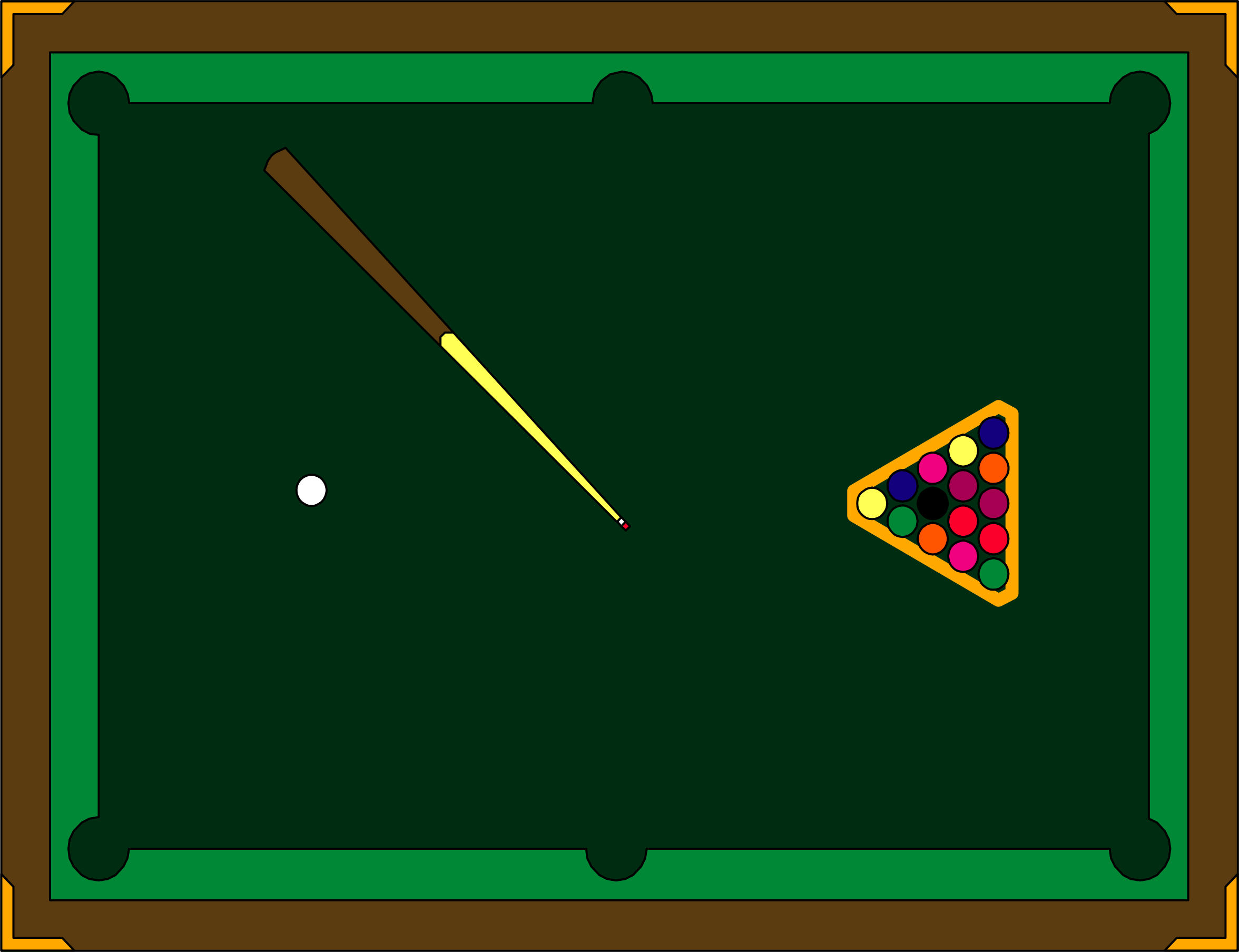 pool table by cactus cowboy