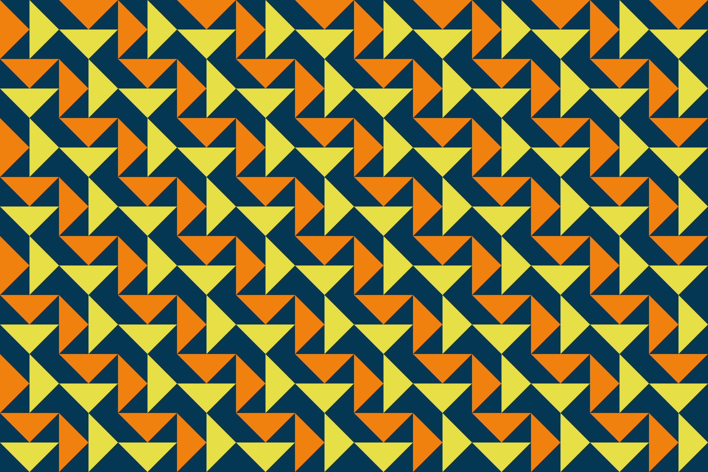 Triangles pattern by Firkin