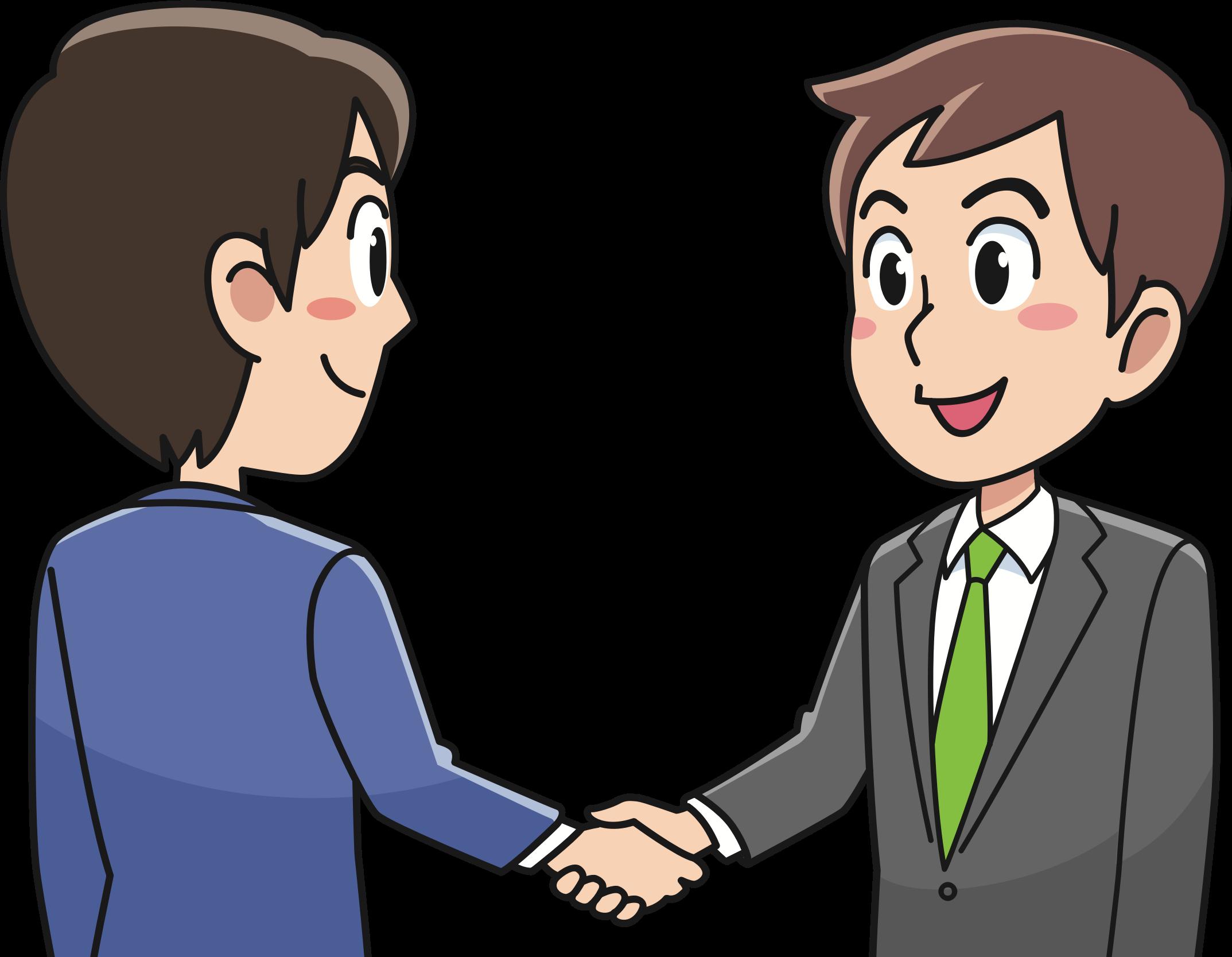 Business Handshake by oksmith