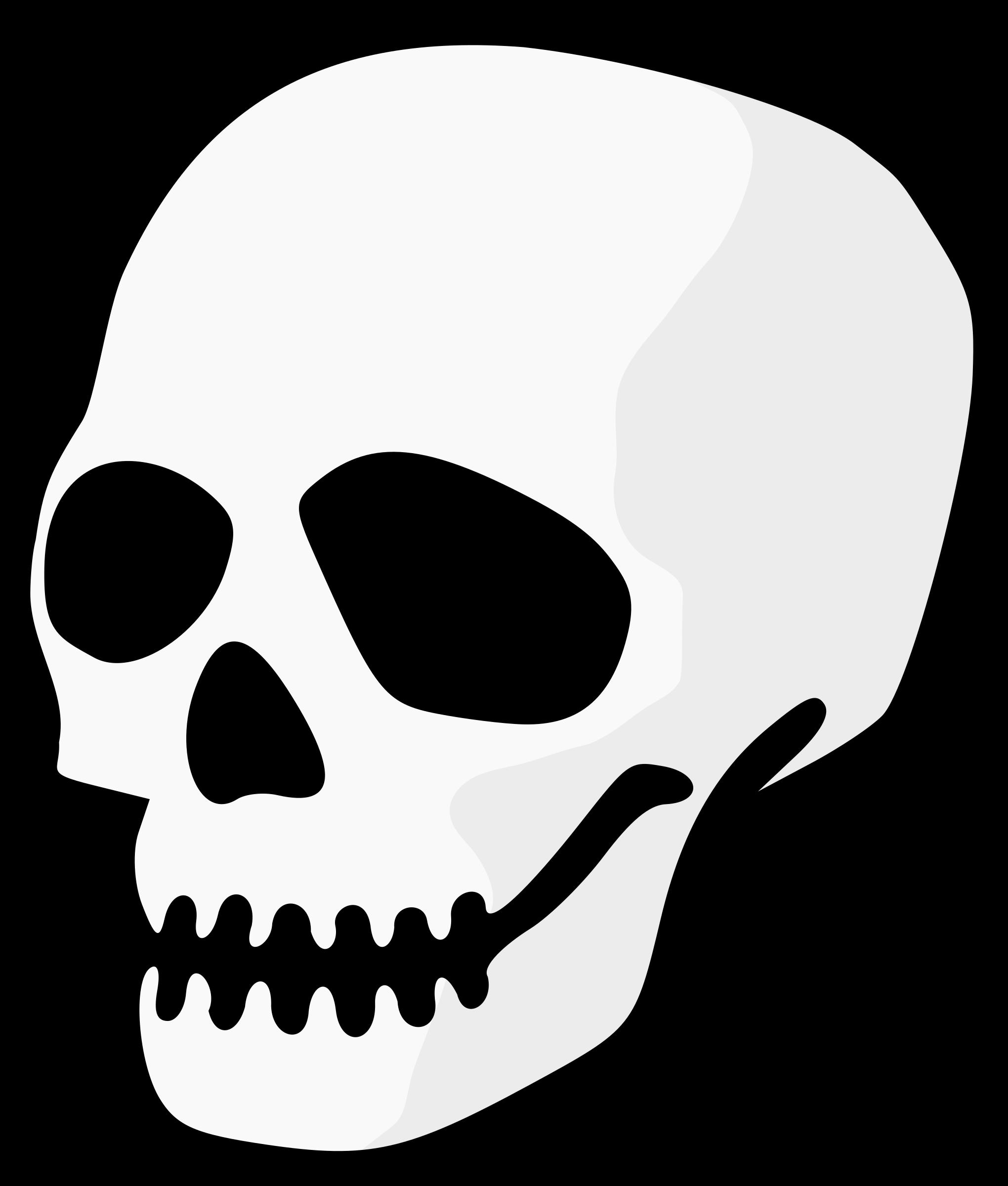 clipart skull rh openclipart org skull clipart png skull clipart vector