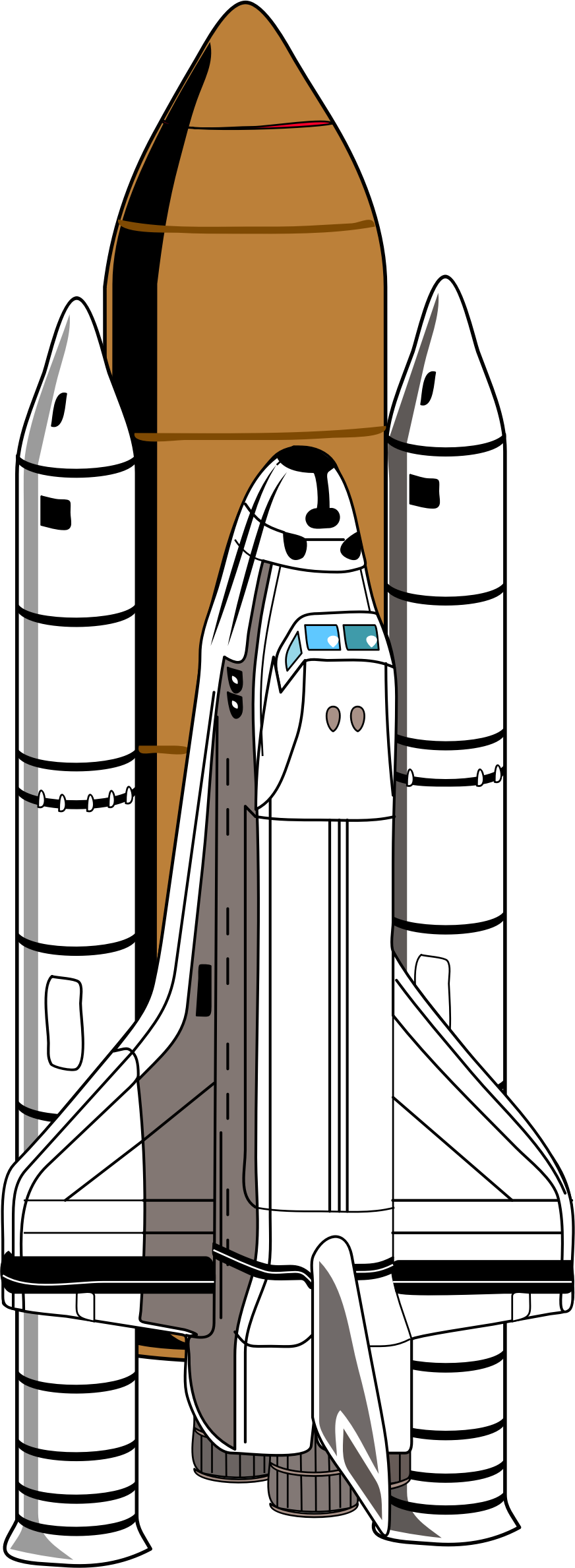 space shuttle by cactus cowboy