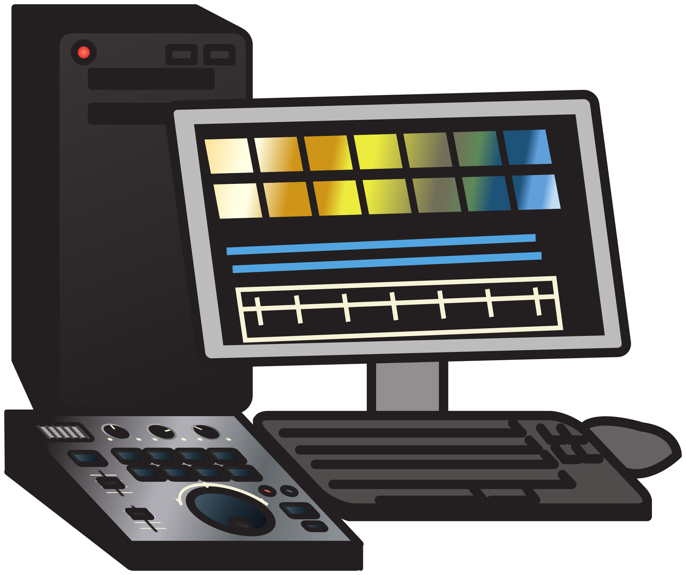 Non-linear video editing system 2 by Juhele
