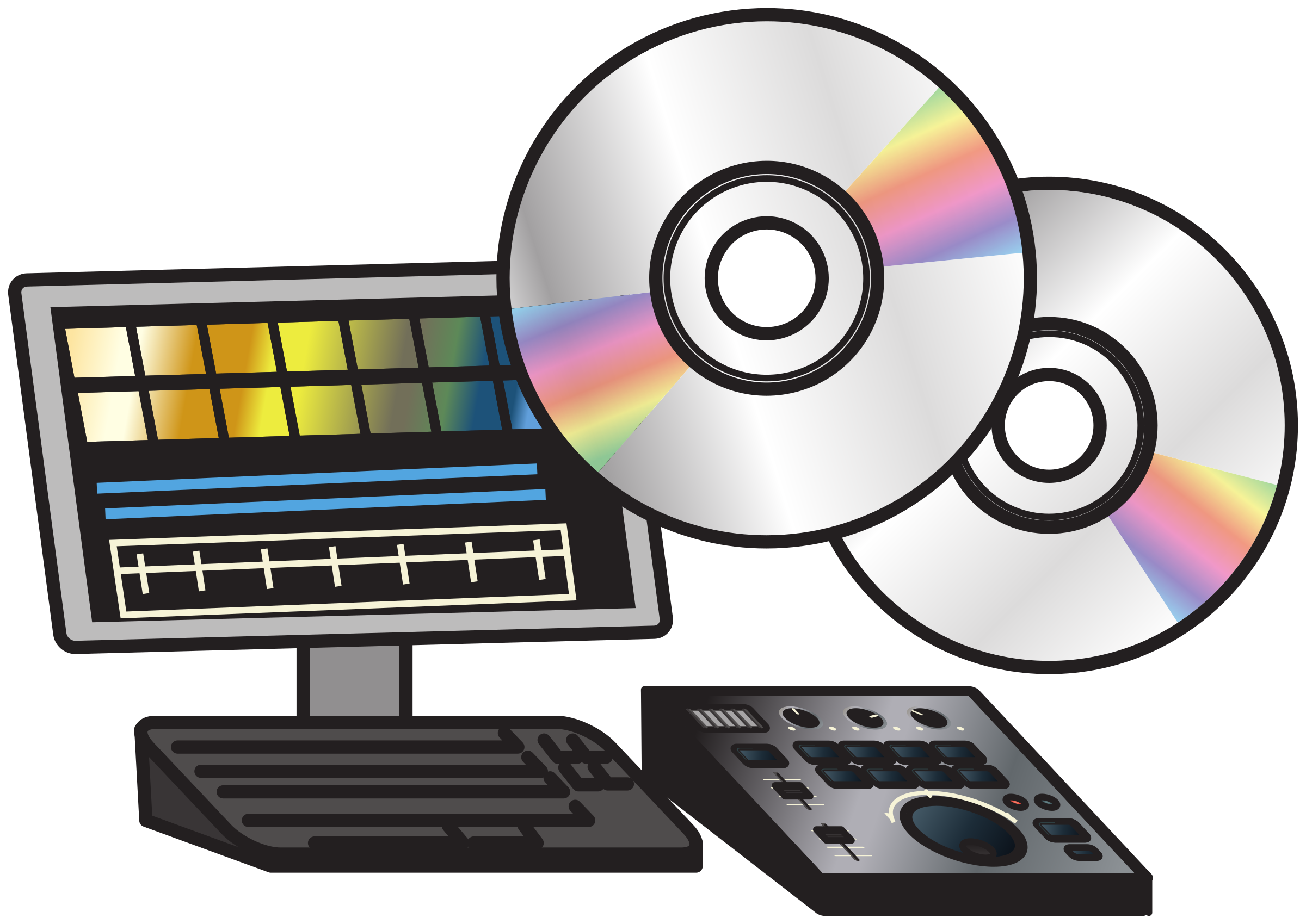 Non-linear video editing system 3 by Juhele