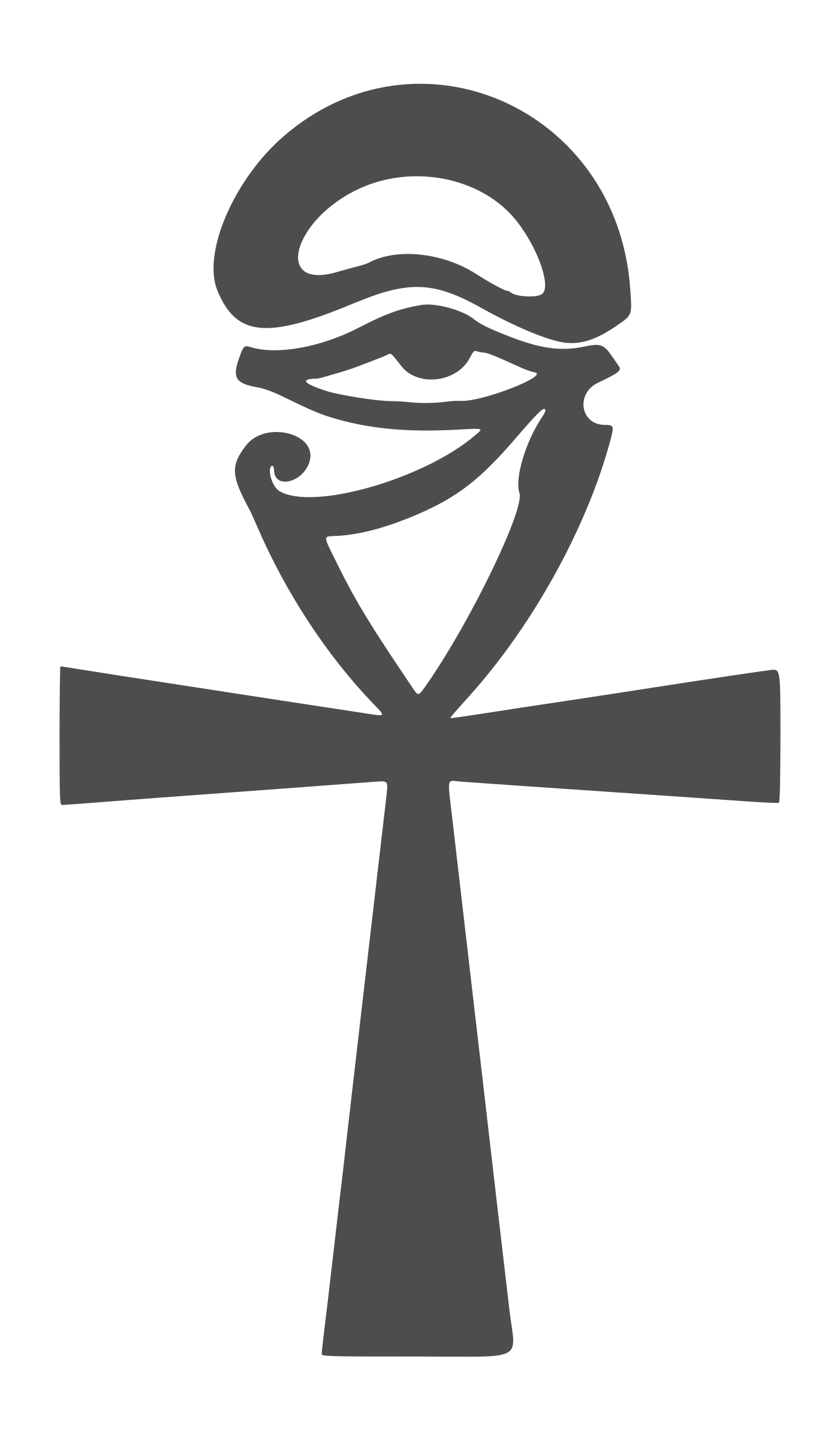 Clipart - Egyptian symbol of wisdom - Símbolo egipcio de