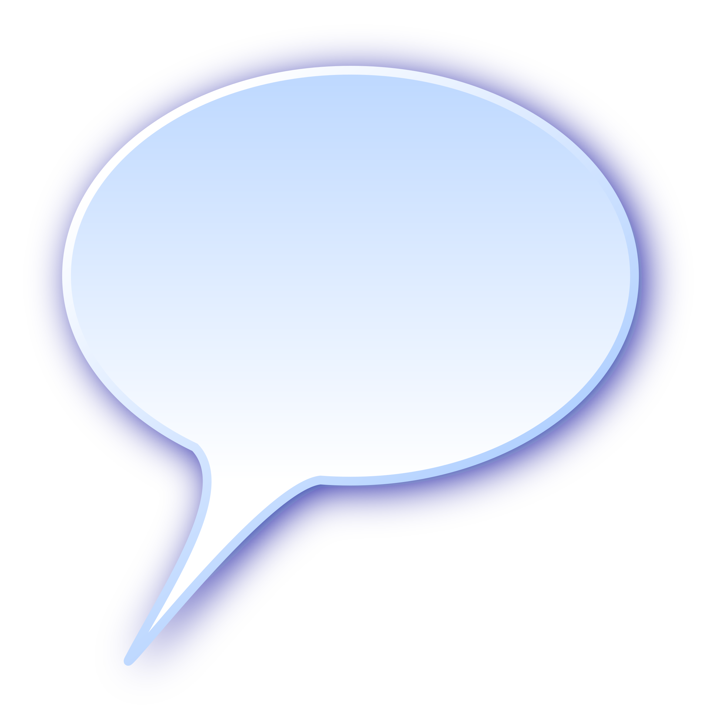 ... - 3d Rounded Speech Bubble By Demikl A Nicely Rounded Speech Bubble