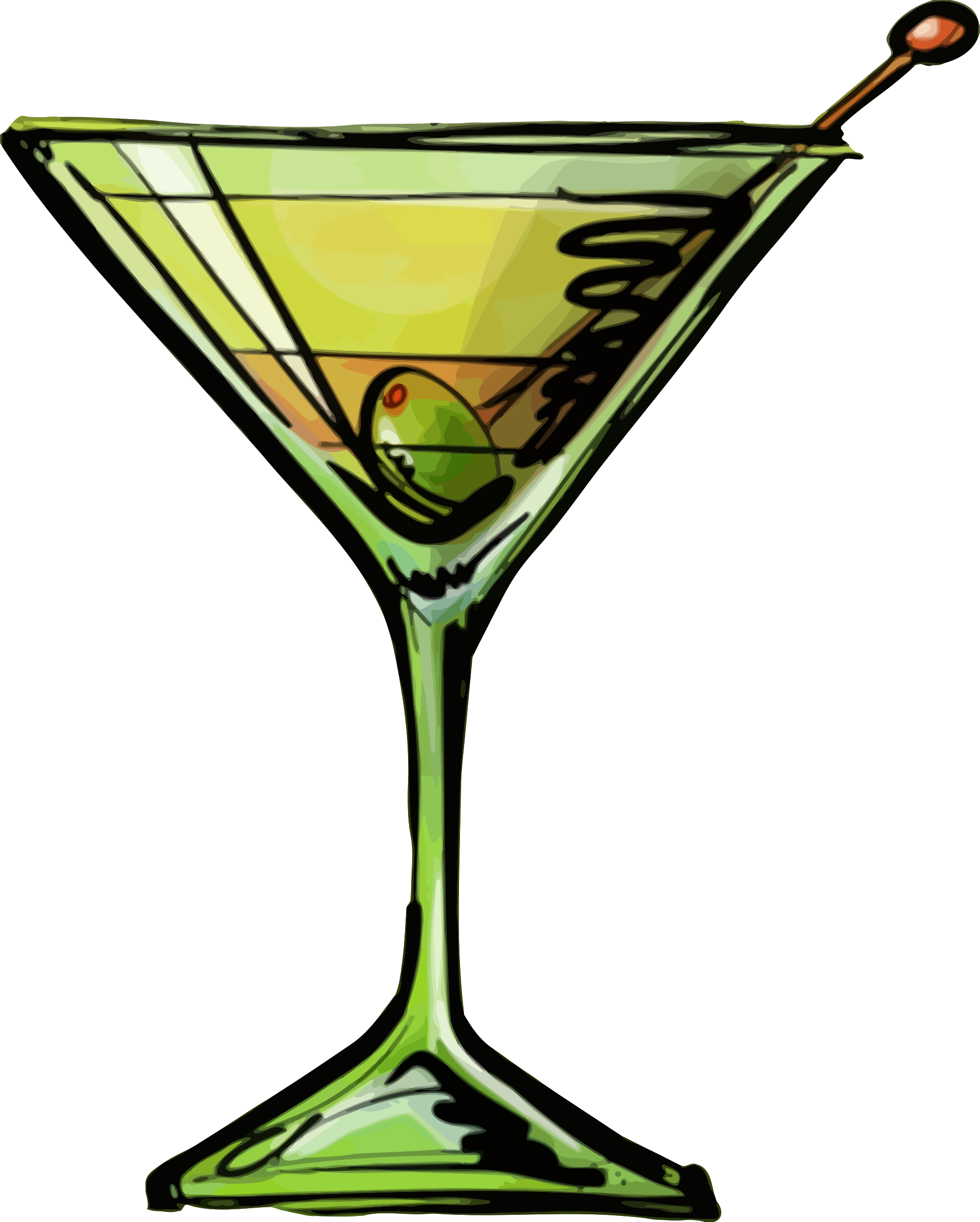 Dirty martini cocktail by Firkin