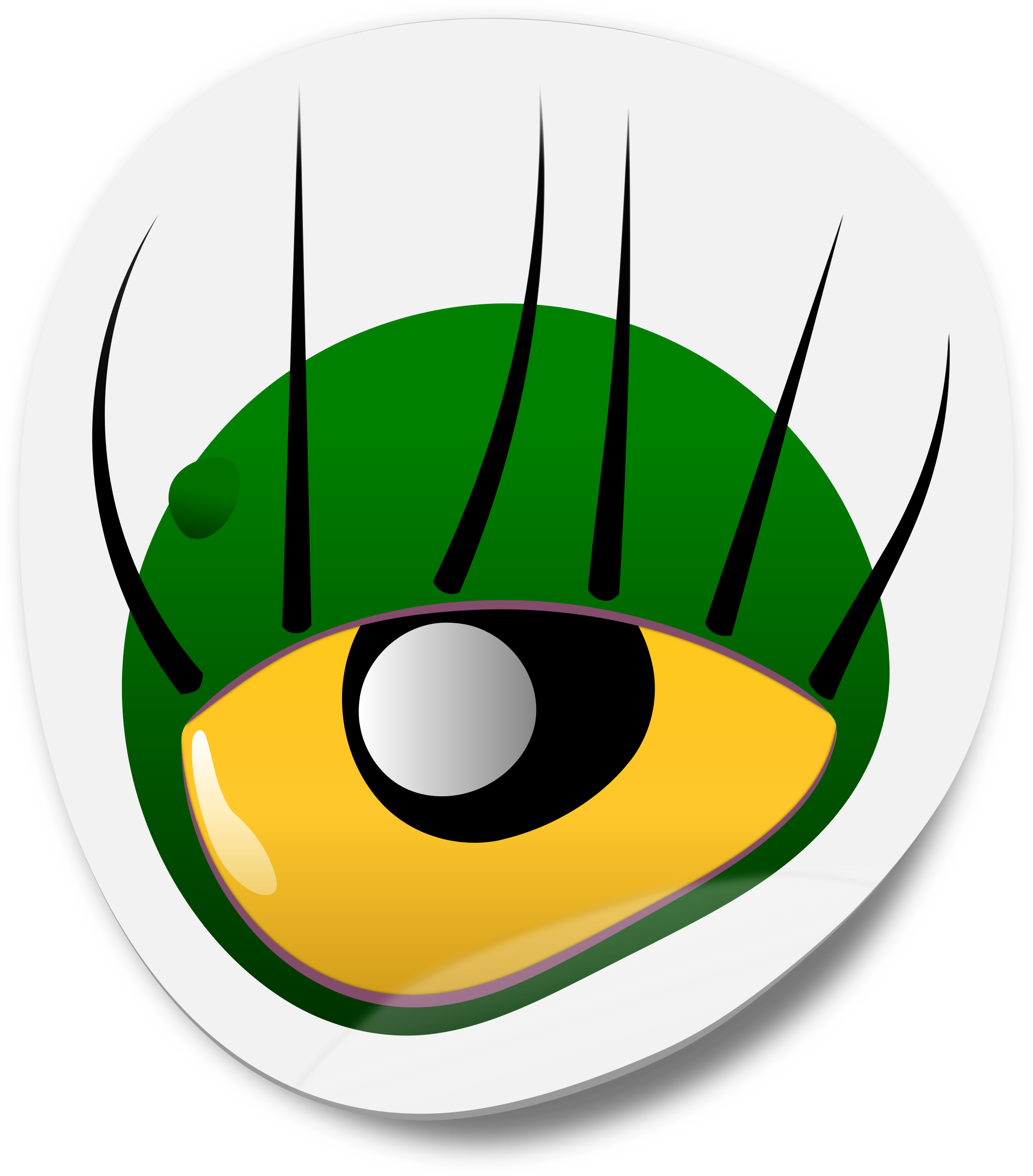 Monster Eye Sticker 1 by dogface_jim