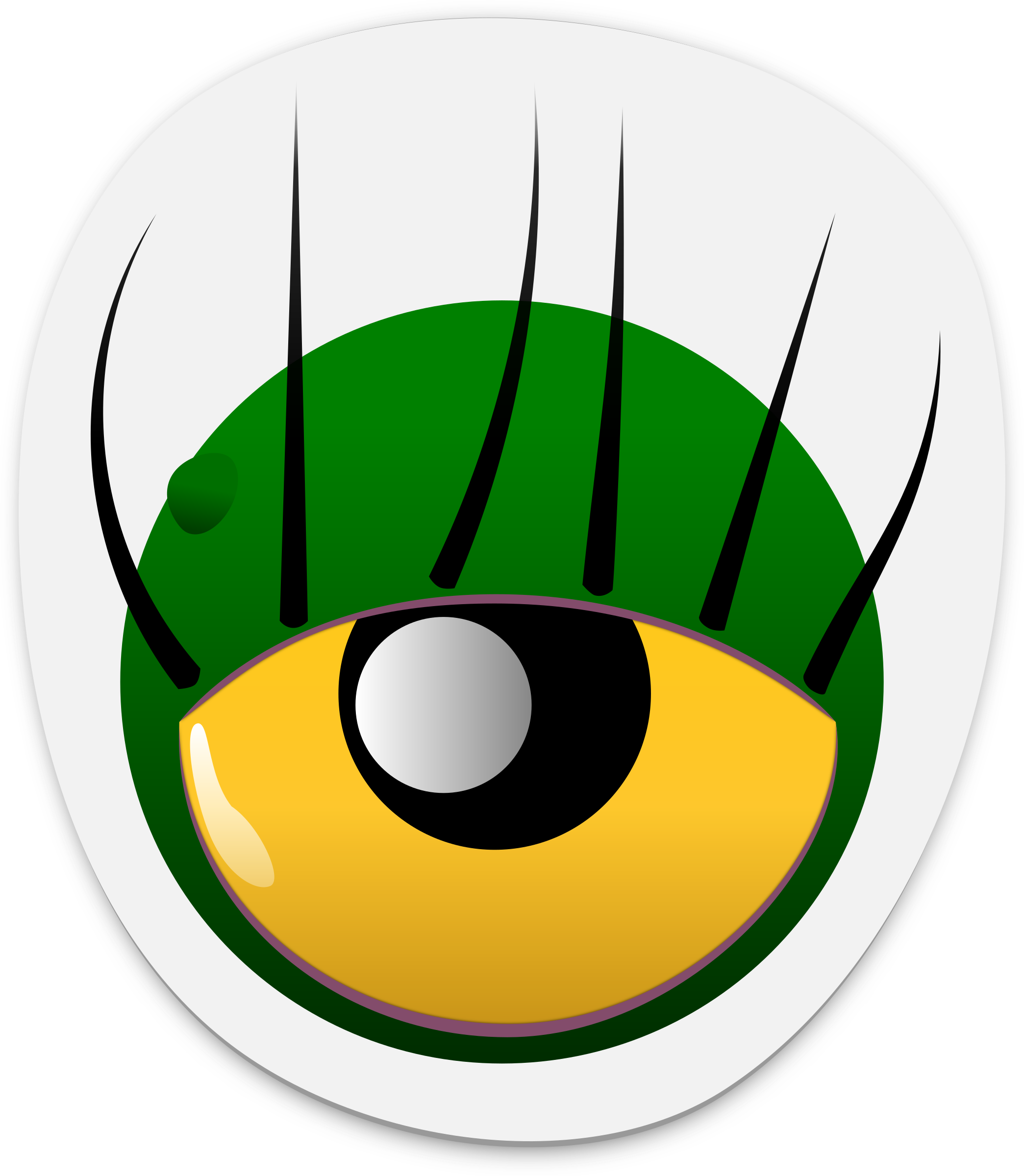 monster eye sticker 2 by dogface_jim