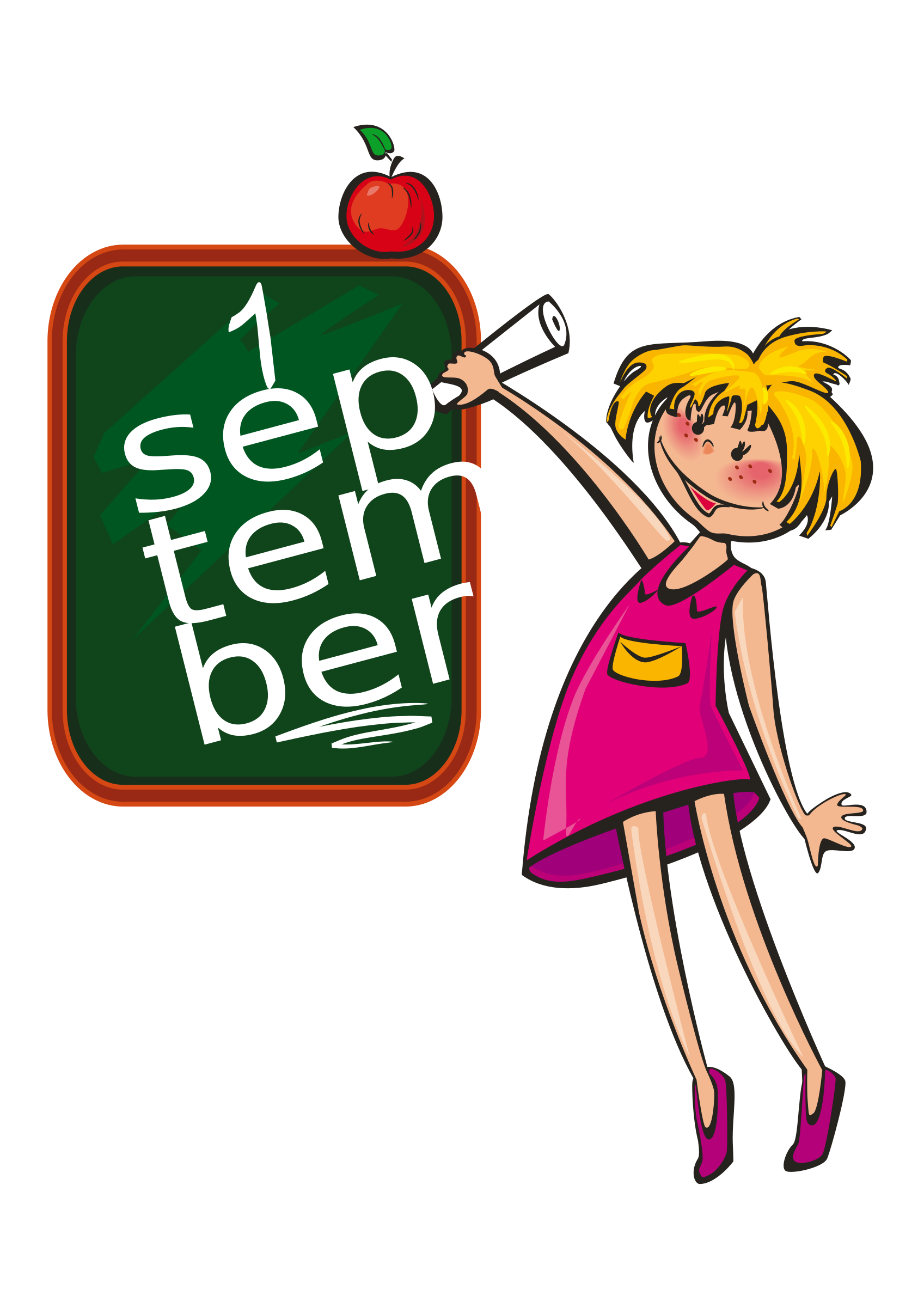 Back to school on 1 september by Iyo