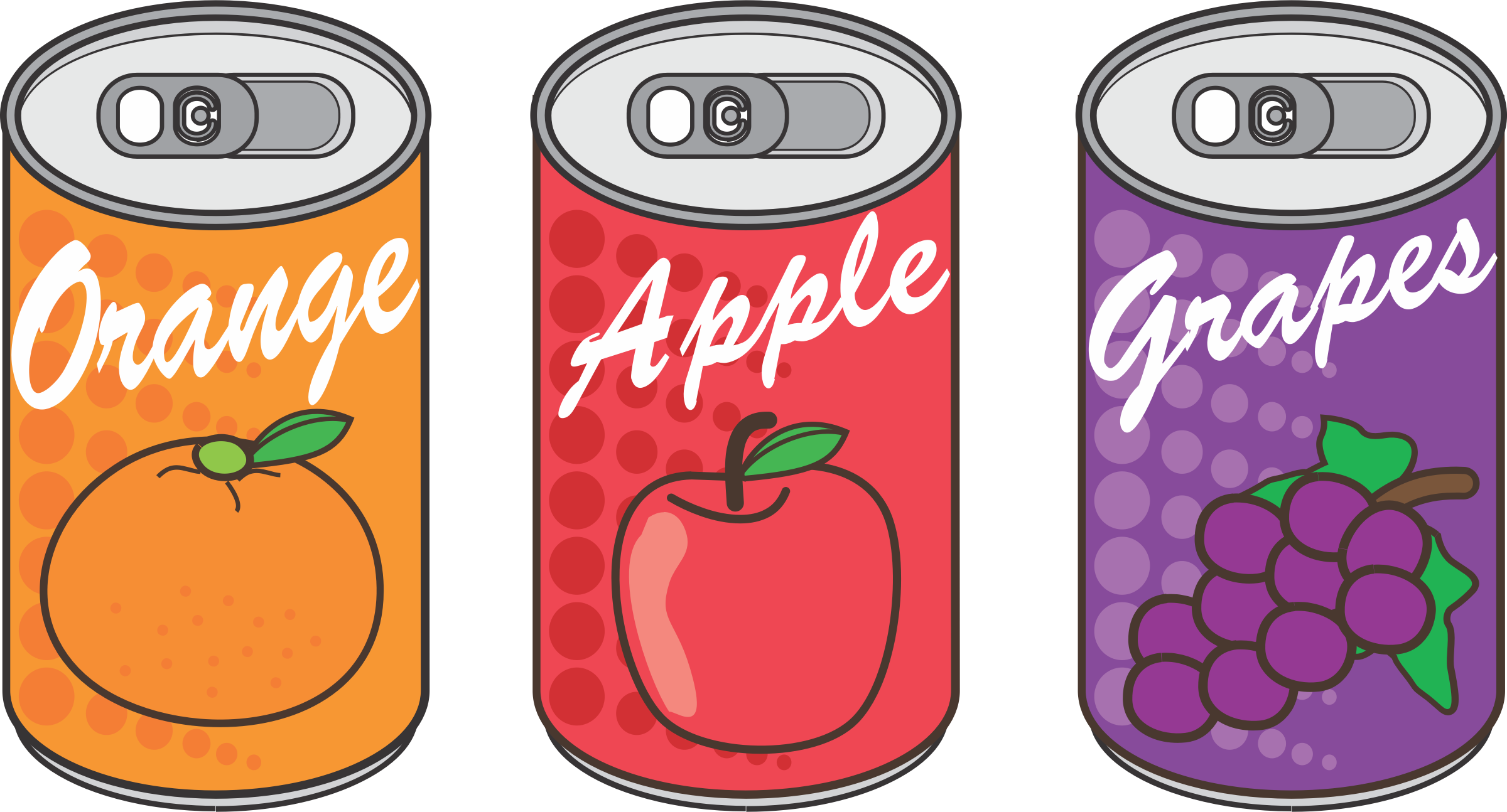 Canned Drinks by oksmith