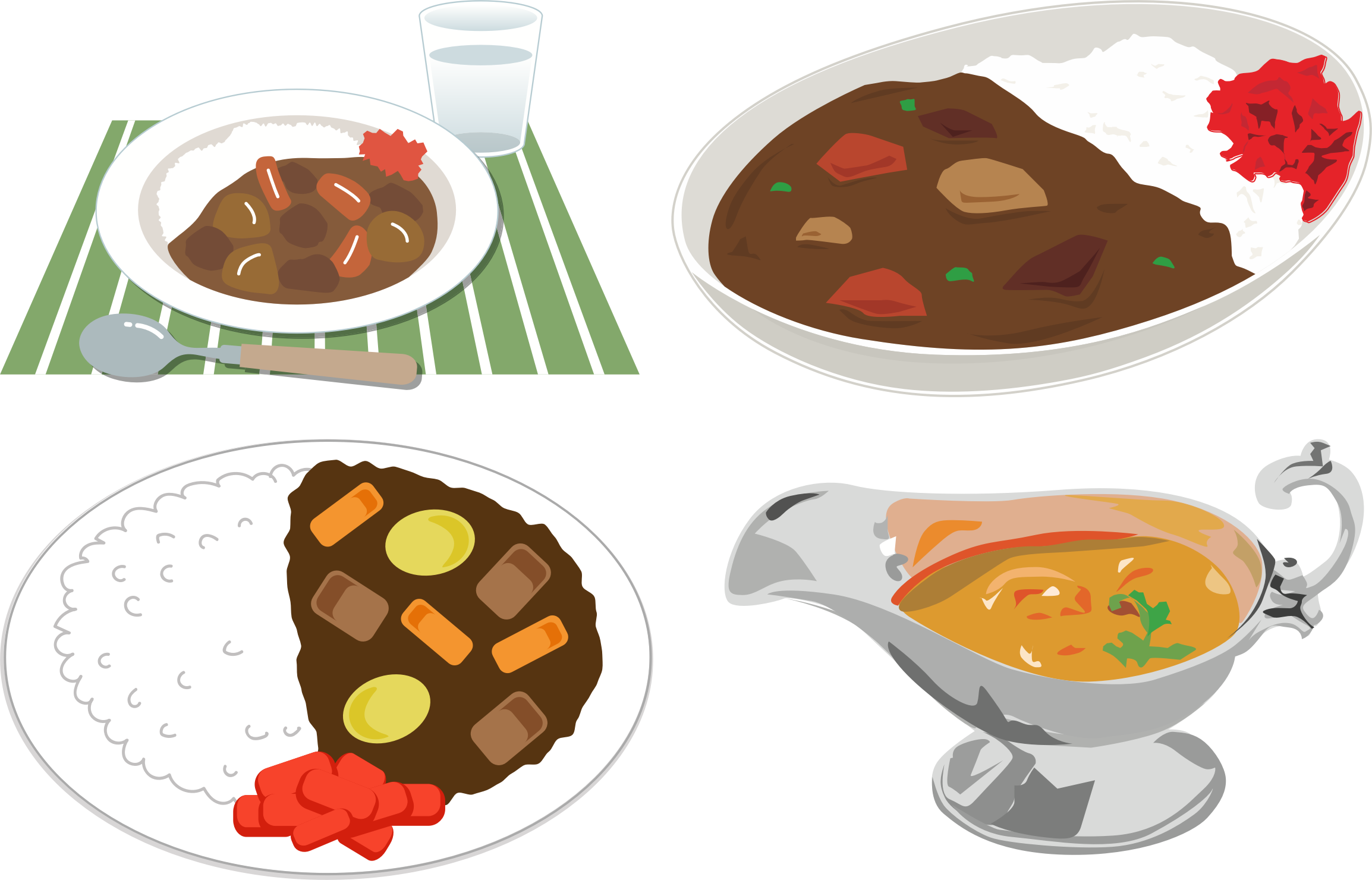 Clipart Japanese Curry Rice 3
