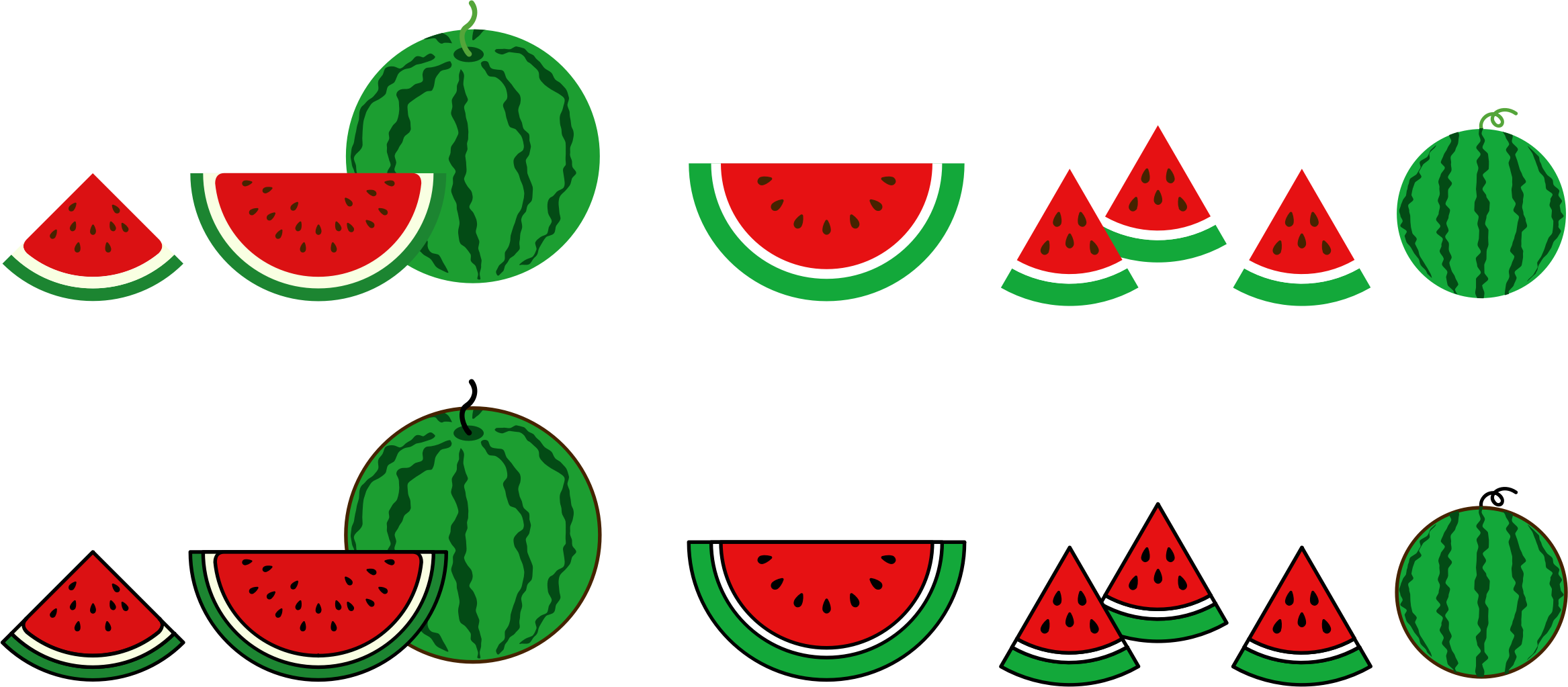 Watermelons (#1) by oksmith