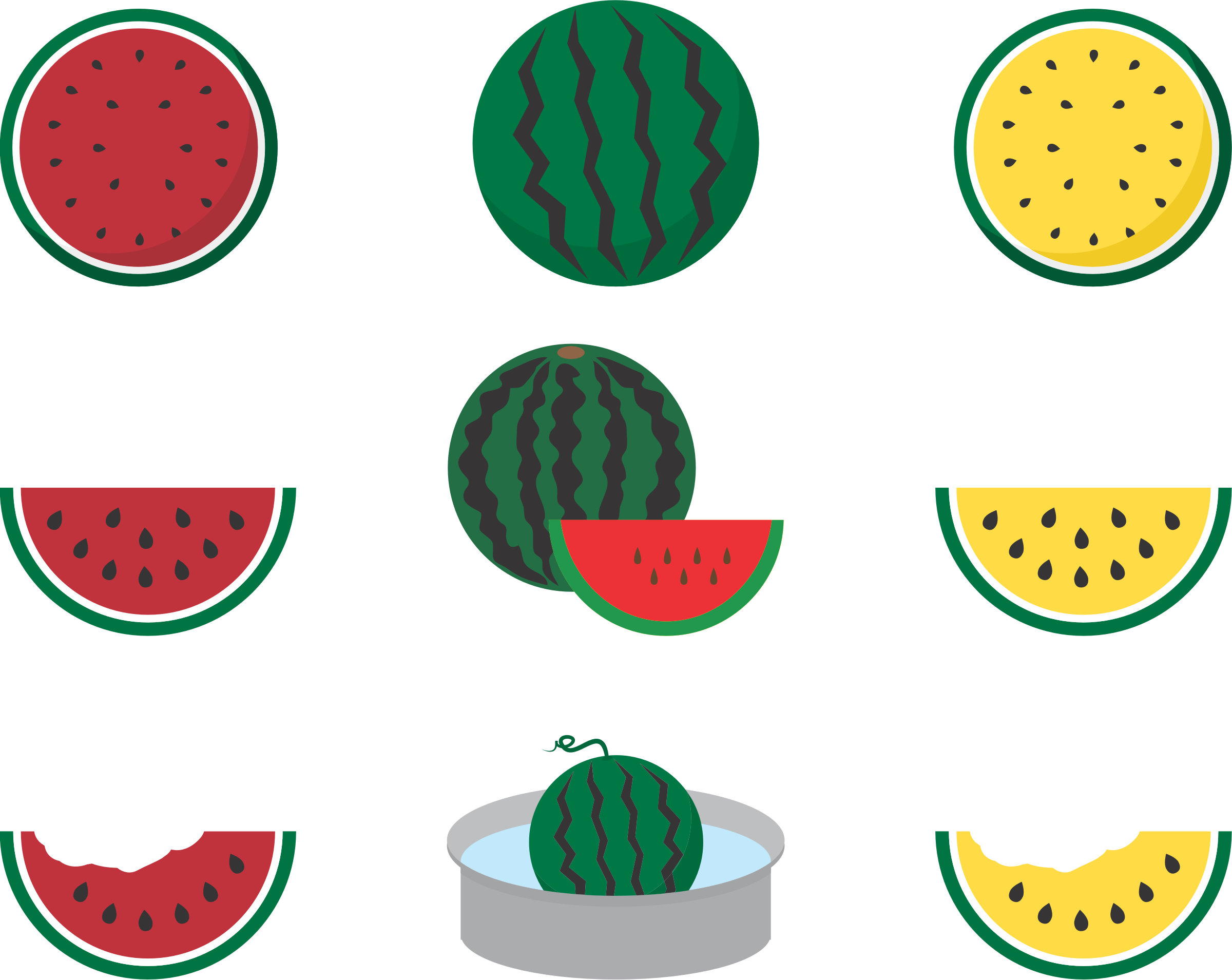 Watermelons (#2) by oksmith
