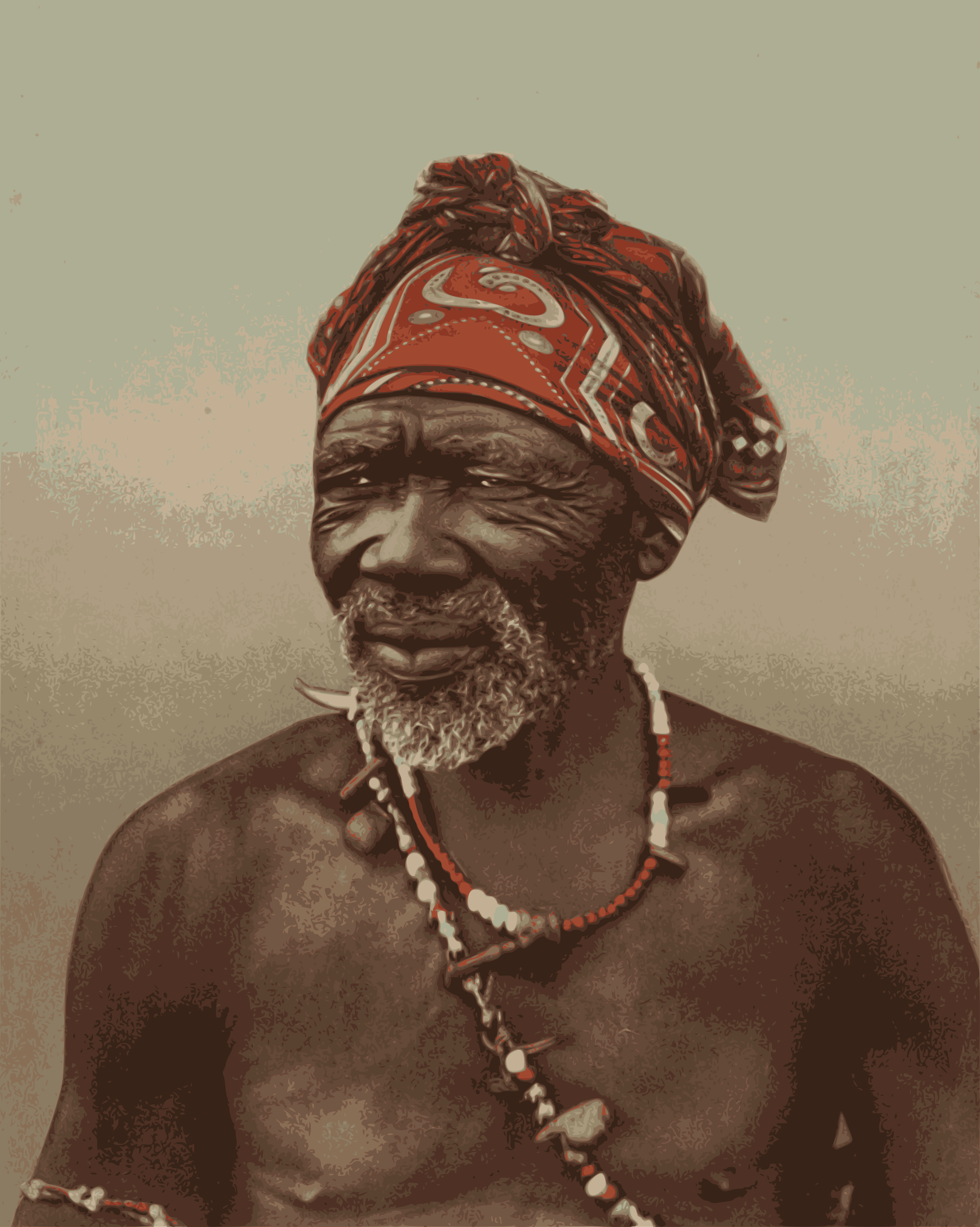 South African Medicine Man by j4p4n