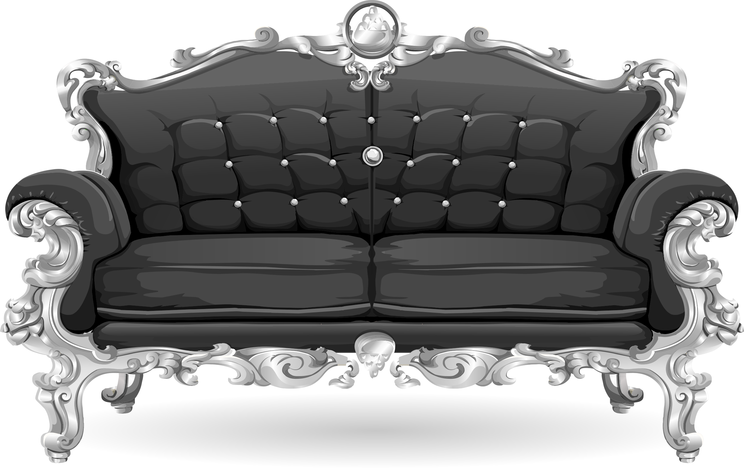 Big Sofa Clipart Baroque Sofa From Glitch Maurice Dufrene