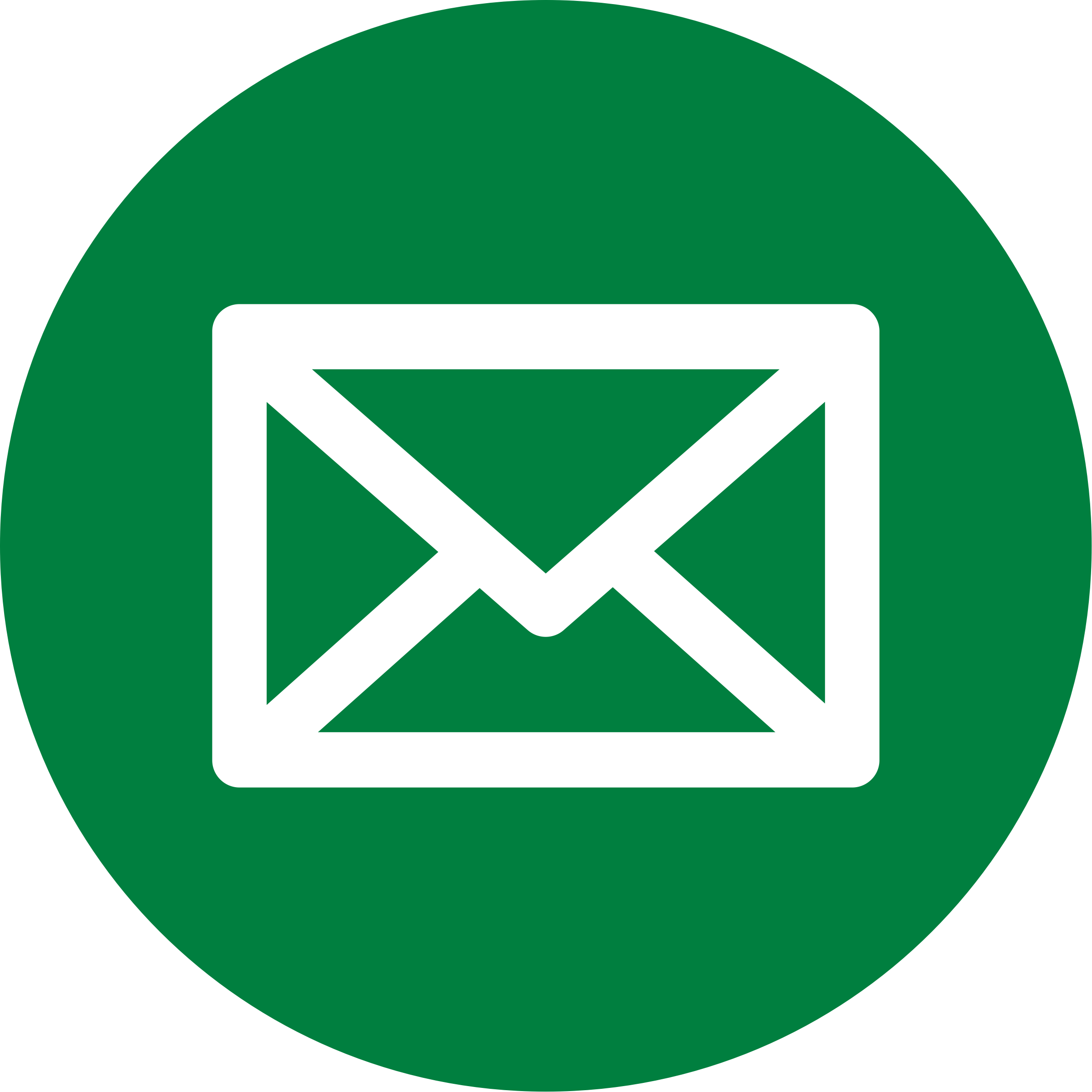 Green Mail Icon by shunesburg69