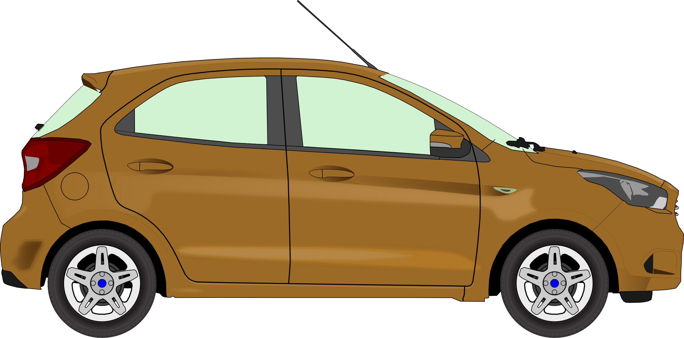 Car 13 (brown) by Firkin