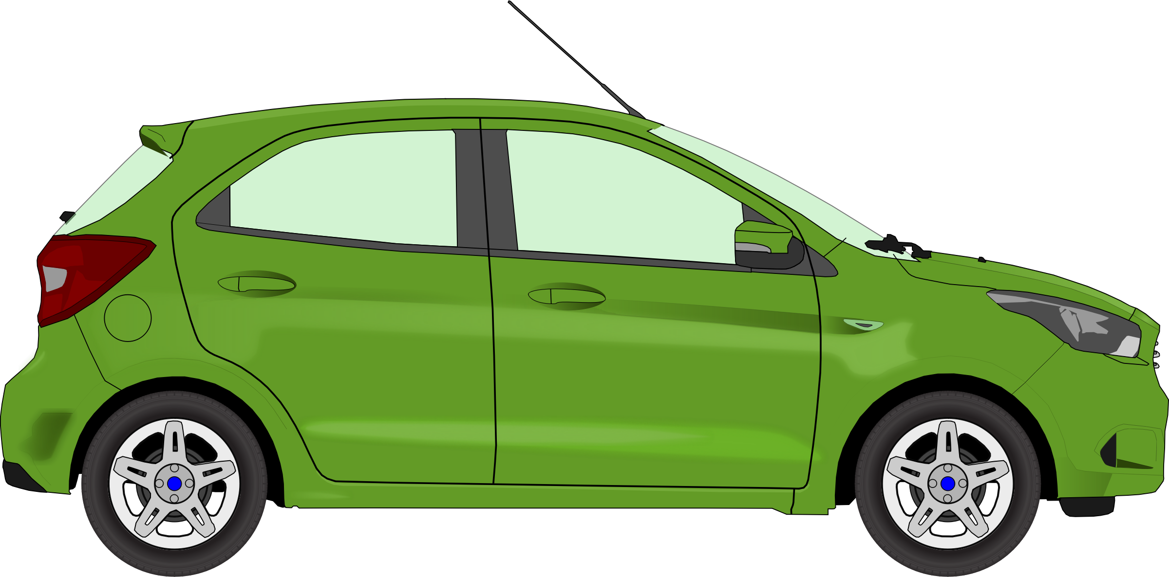 Car 13 (green) by Firkin