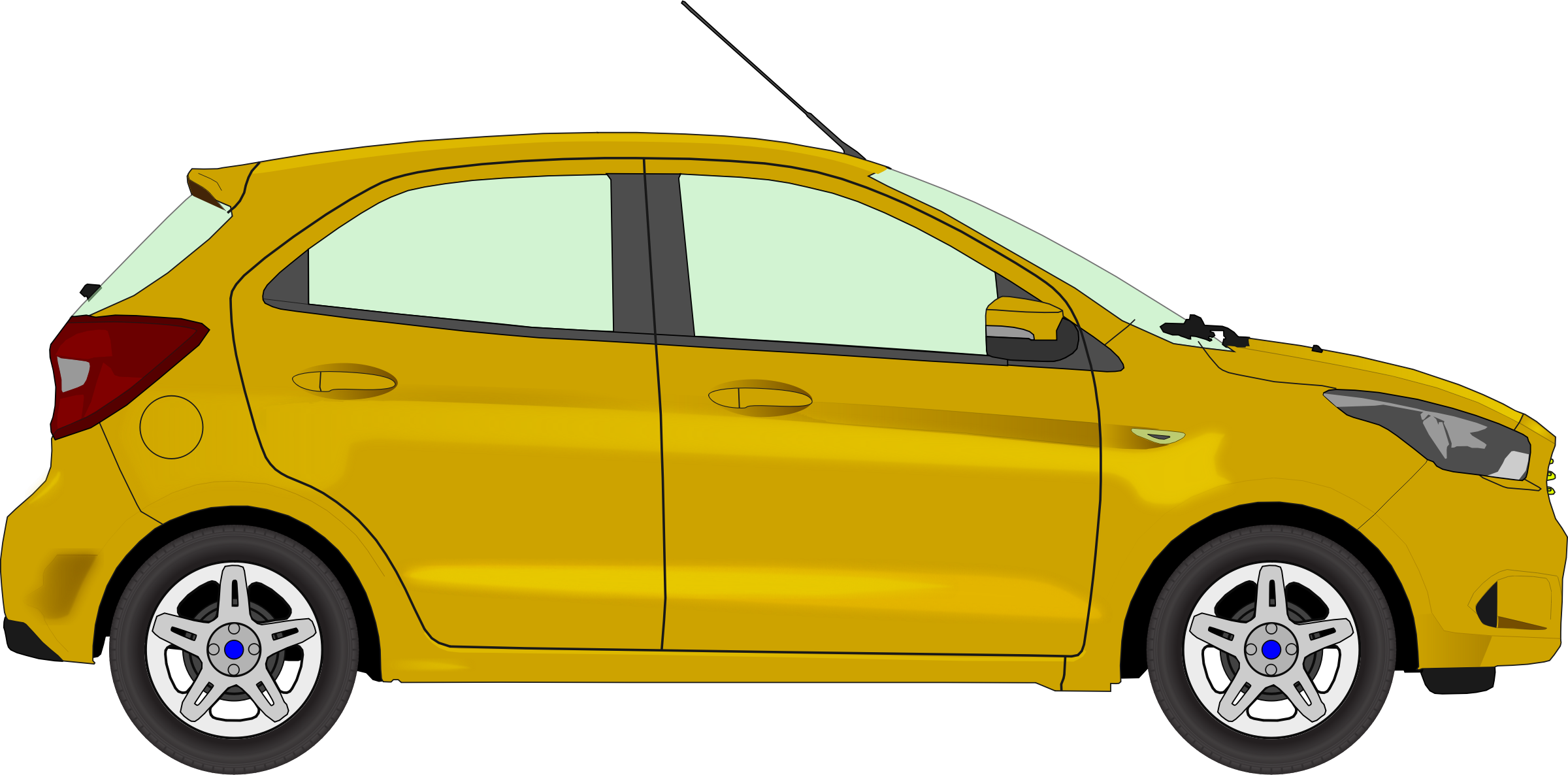 Car 13 (yellow) by Firkin
