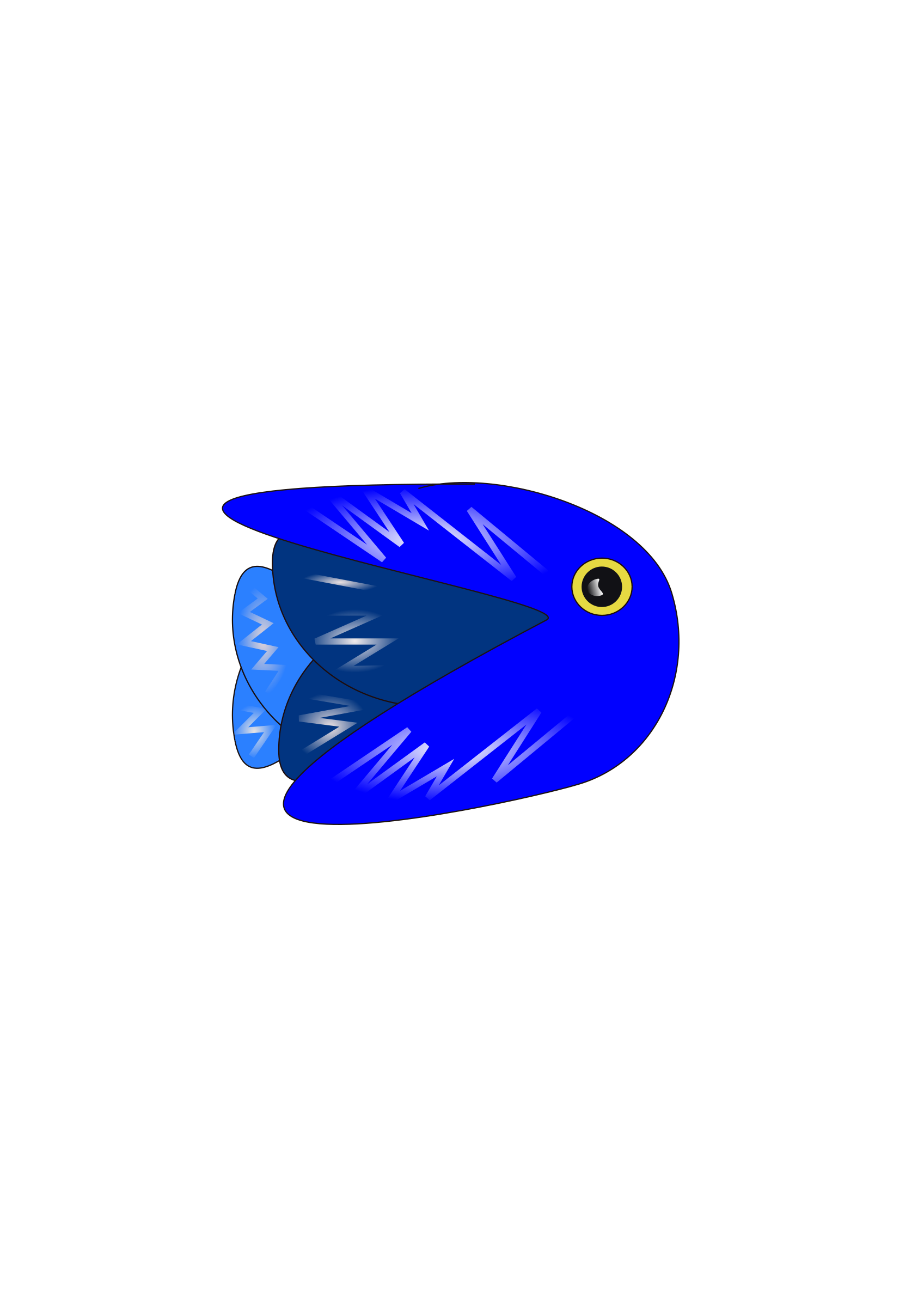 Blue Fish by pixelpadre