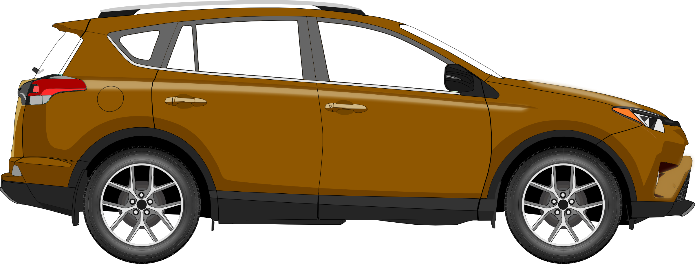 Car 14 (brown) by Firkin