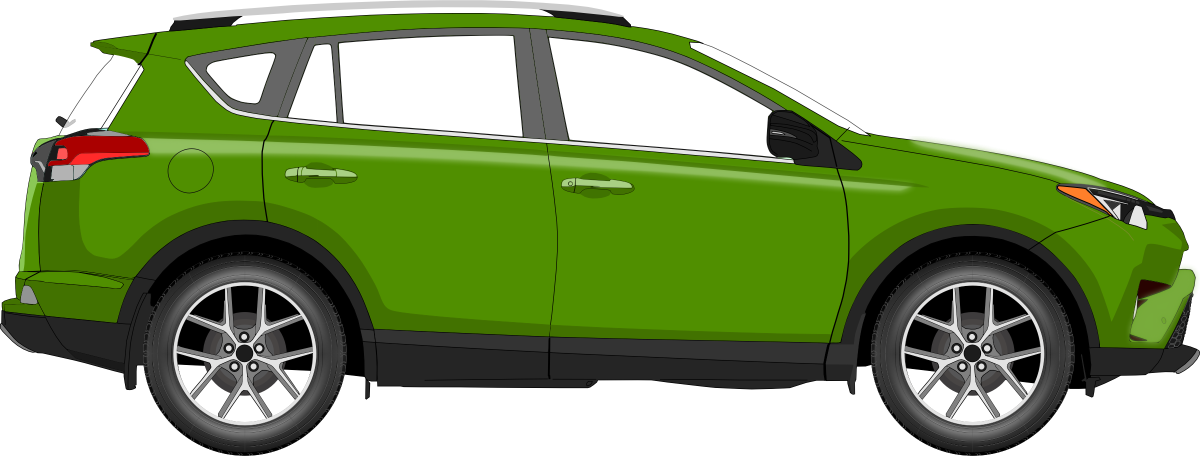 Car 14 (green) by Firkin