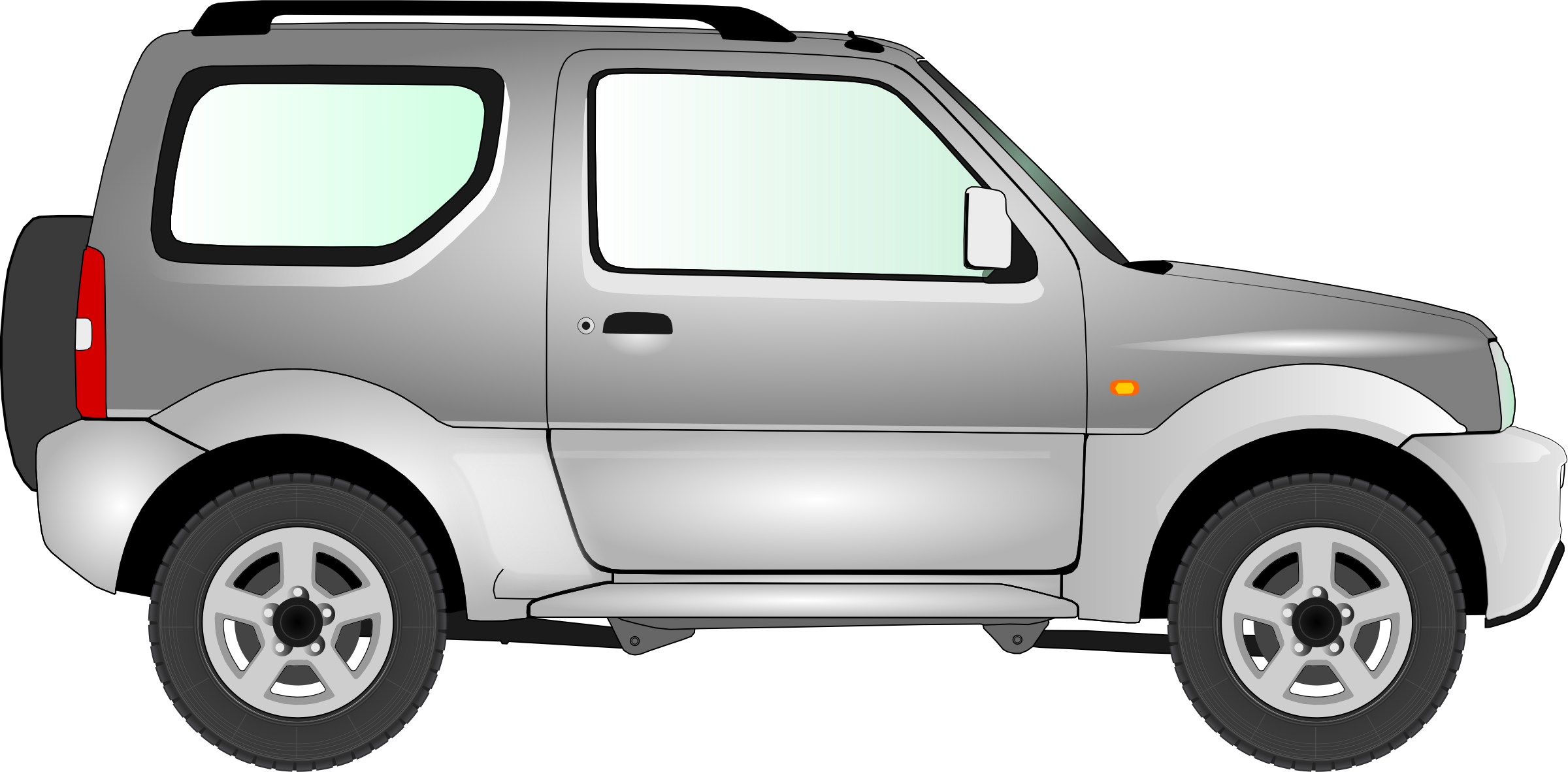 Car 15 (silver) by Firkin